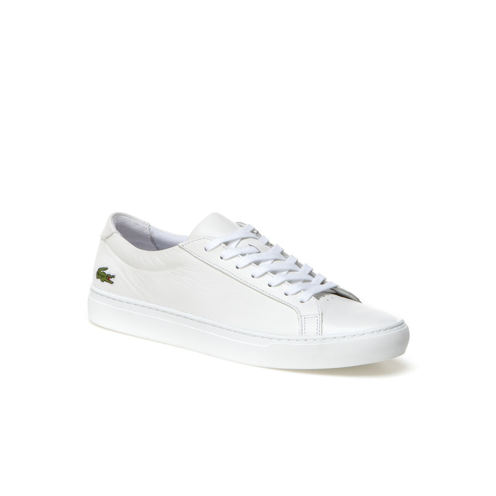 f24aaad515701 Men s L.12.12 Nappa Leather Trainers