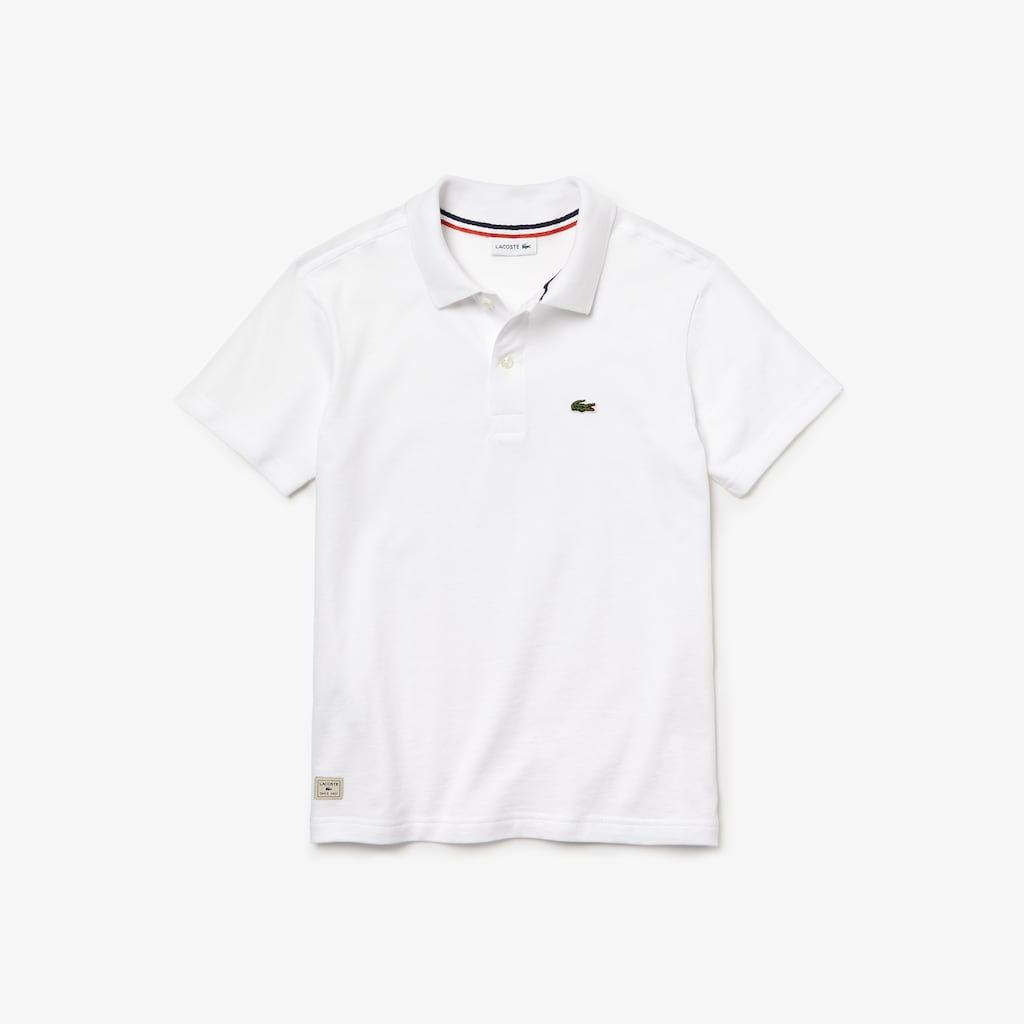 36e117dd5 Boys  Lacoste Cotton Jersey Polo Shirt