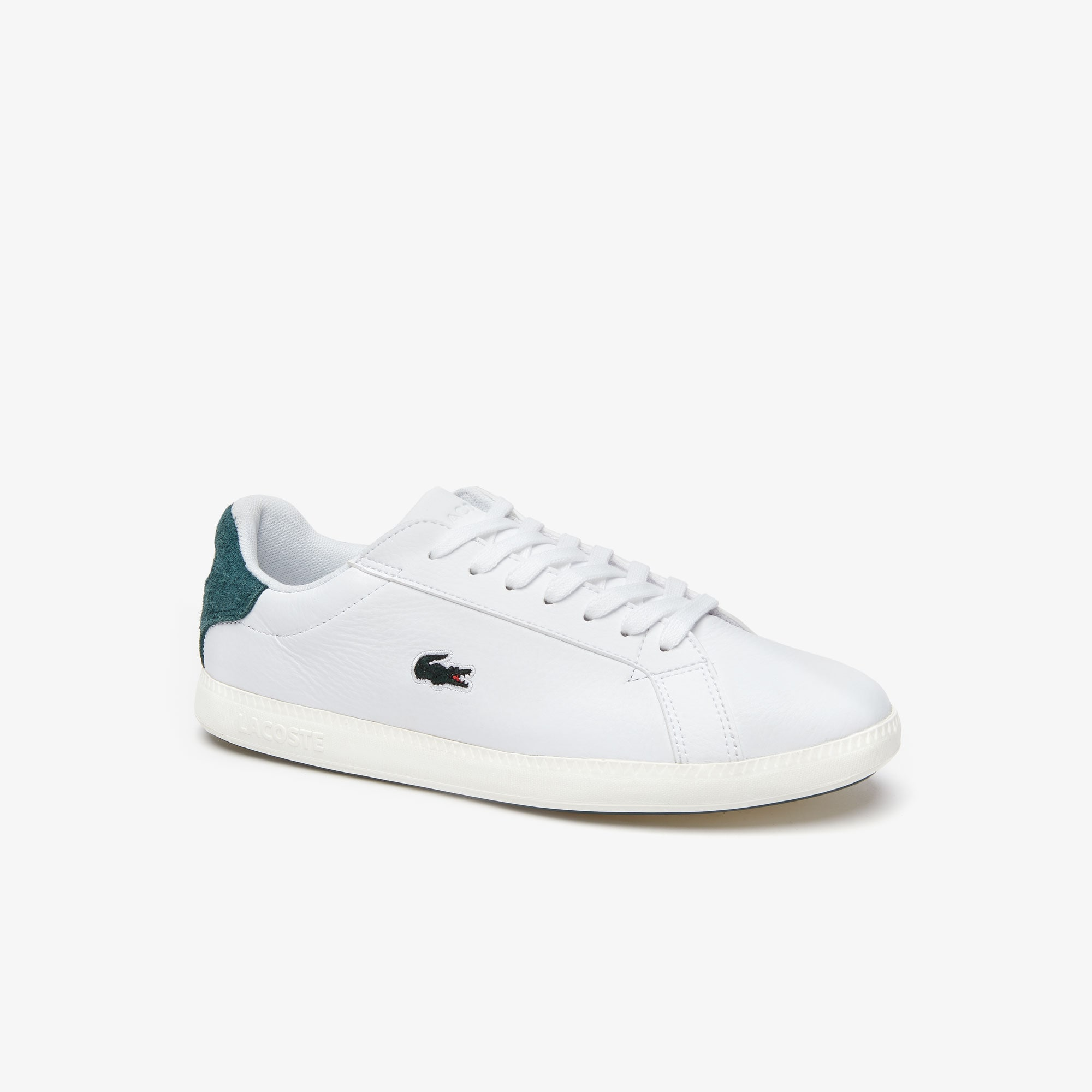Women's Graduate Tumbled Leather and Suede Trainers