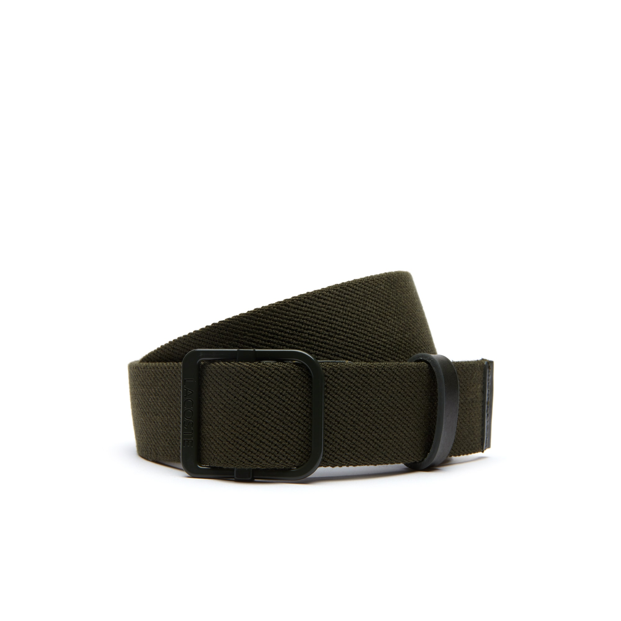 Men's Lacoste Motion Slip-Fit Clip Extensible Woven Belt