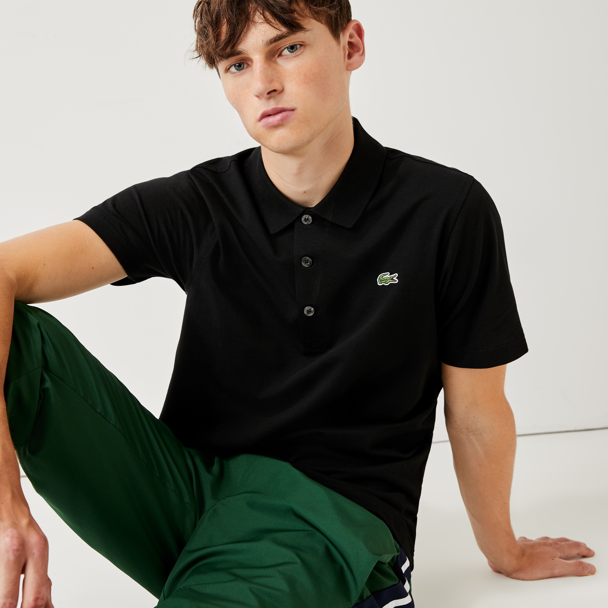 Men's Lacoste SPORT Tennis regular fit Polo Shirt in...
