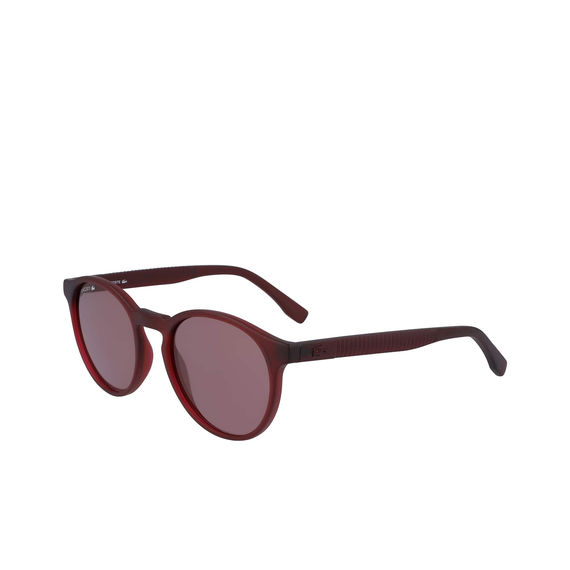 5ece102bf8 Round Plastic Plissé Sunglasses