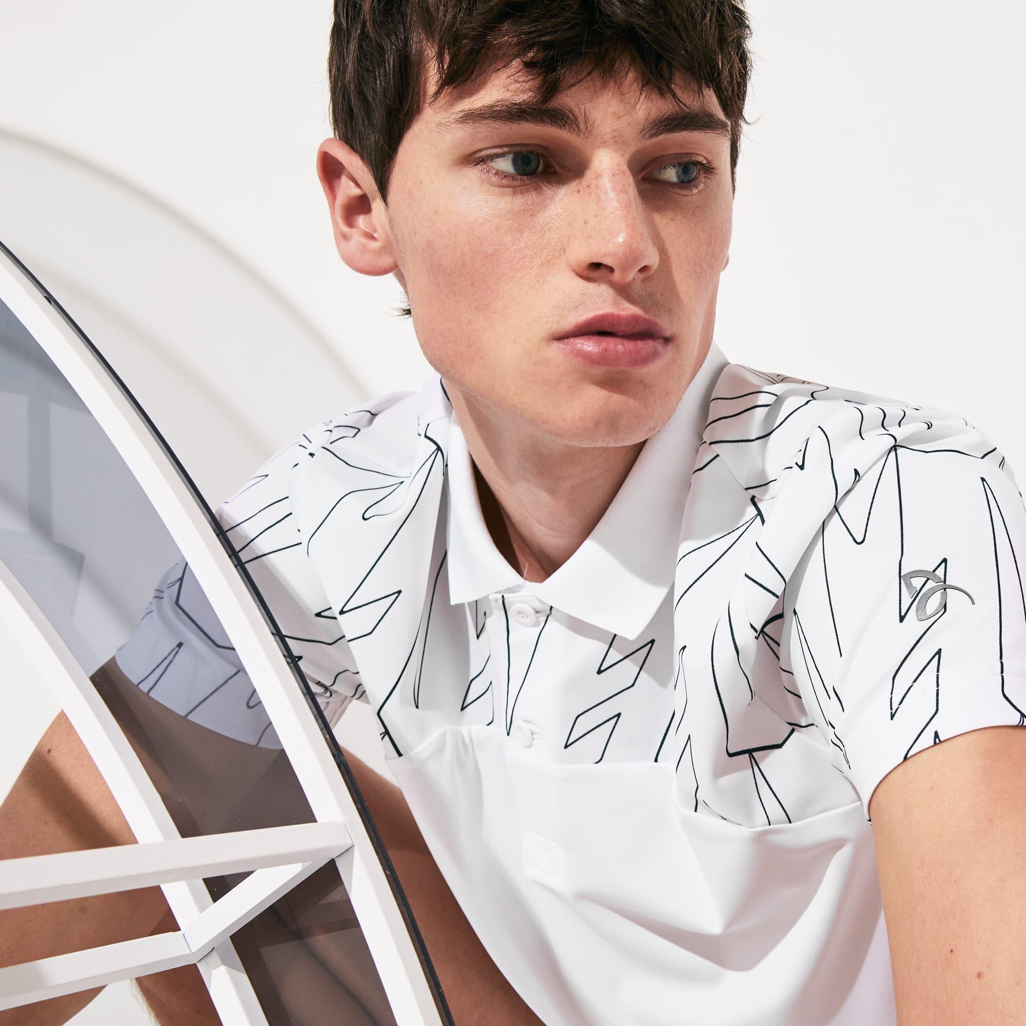 Men's Lacoste SPORT x Novak Djokovic Breathable Ultra-Light Polo Shirt