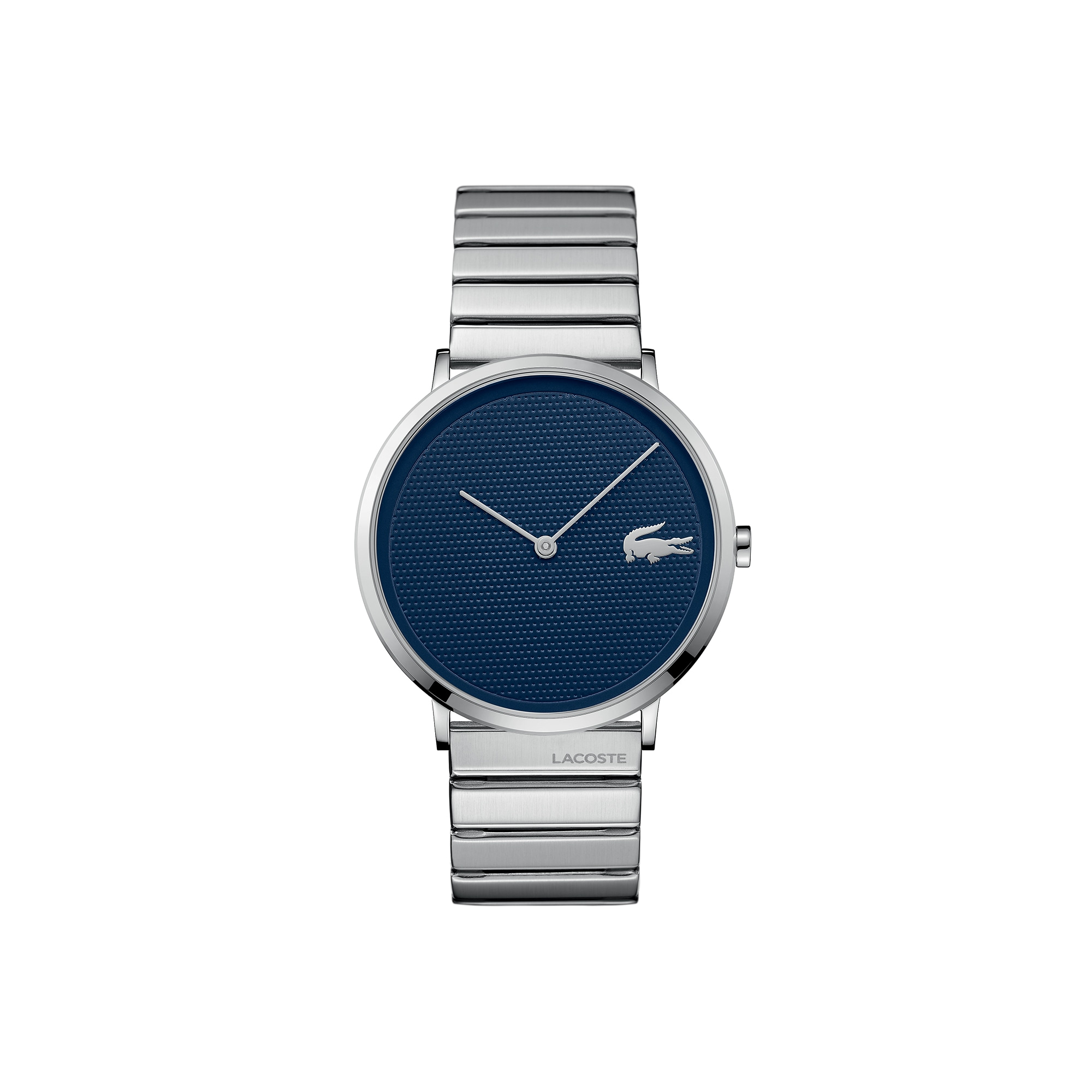 Men's Moon Ultra Slim Watch with Stainless Steel Bracelet