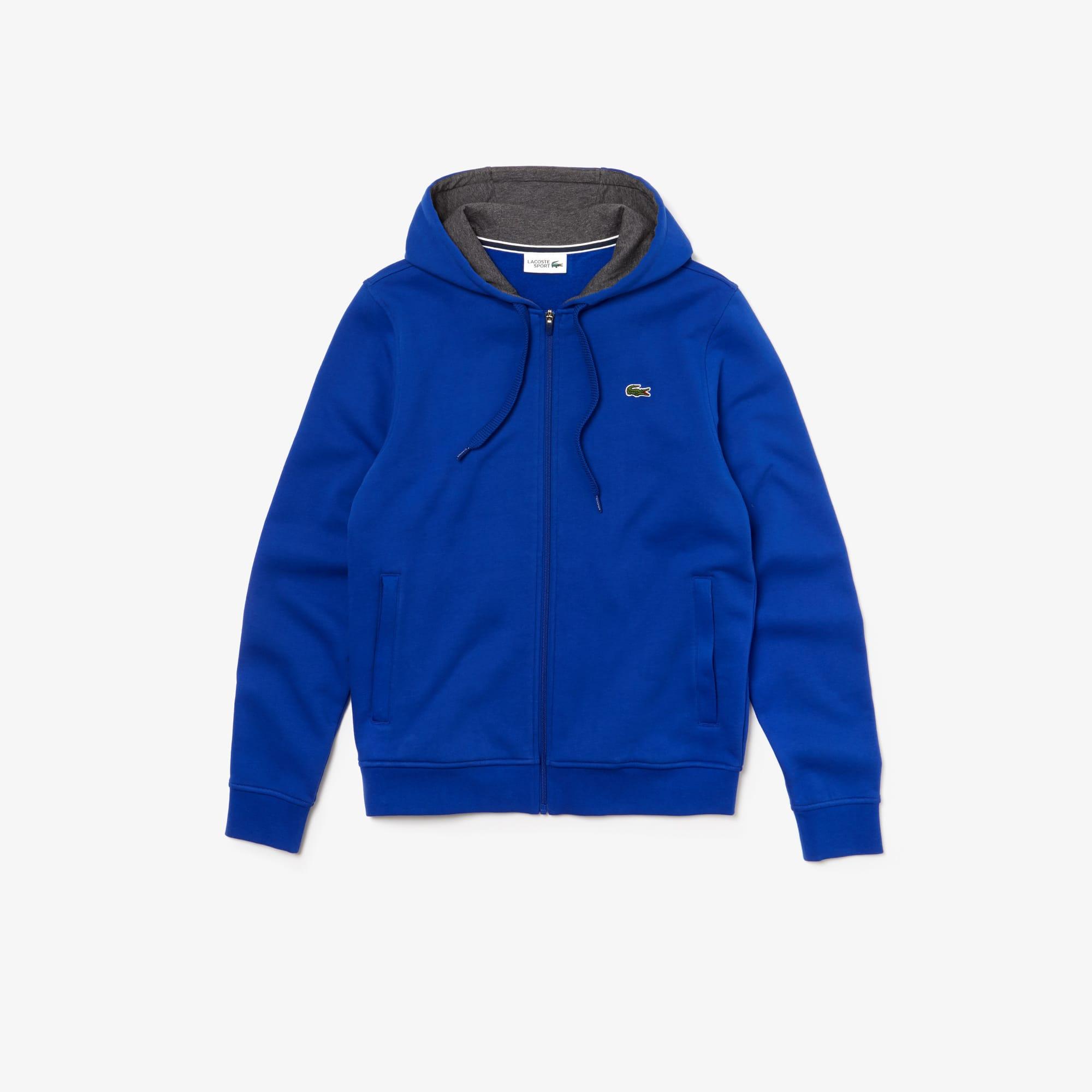 23c39818a5b Men s Lacoste SPORT Tennis hooded zippered sweatshirt in fleece. £90.00. +  7 colors