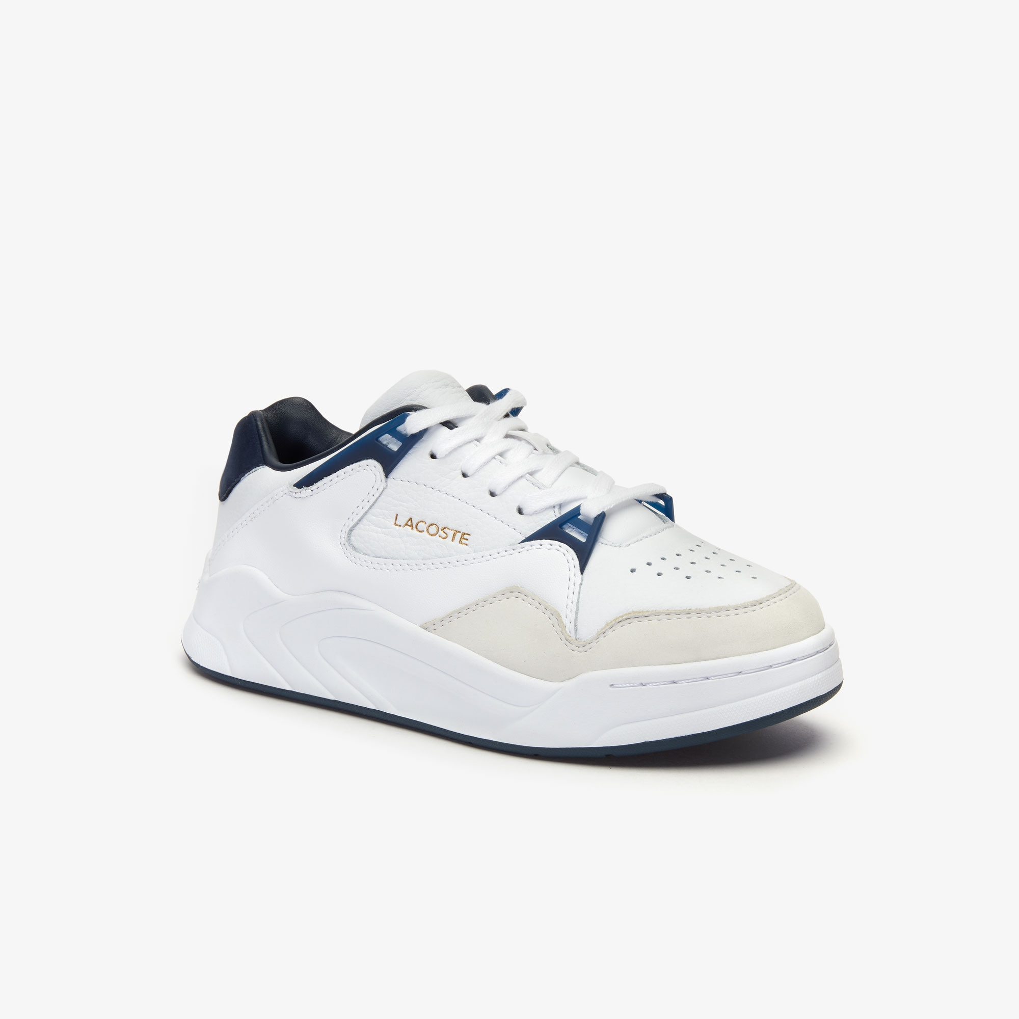 Women's Court Slam Leather Trainers