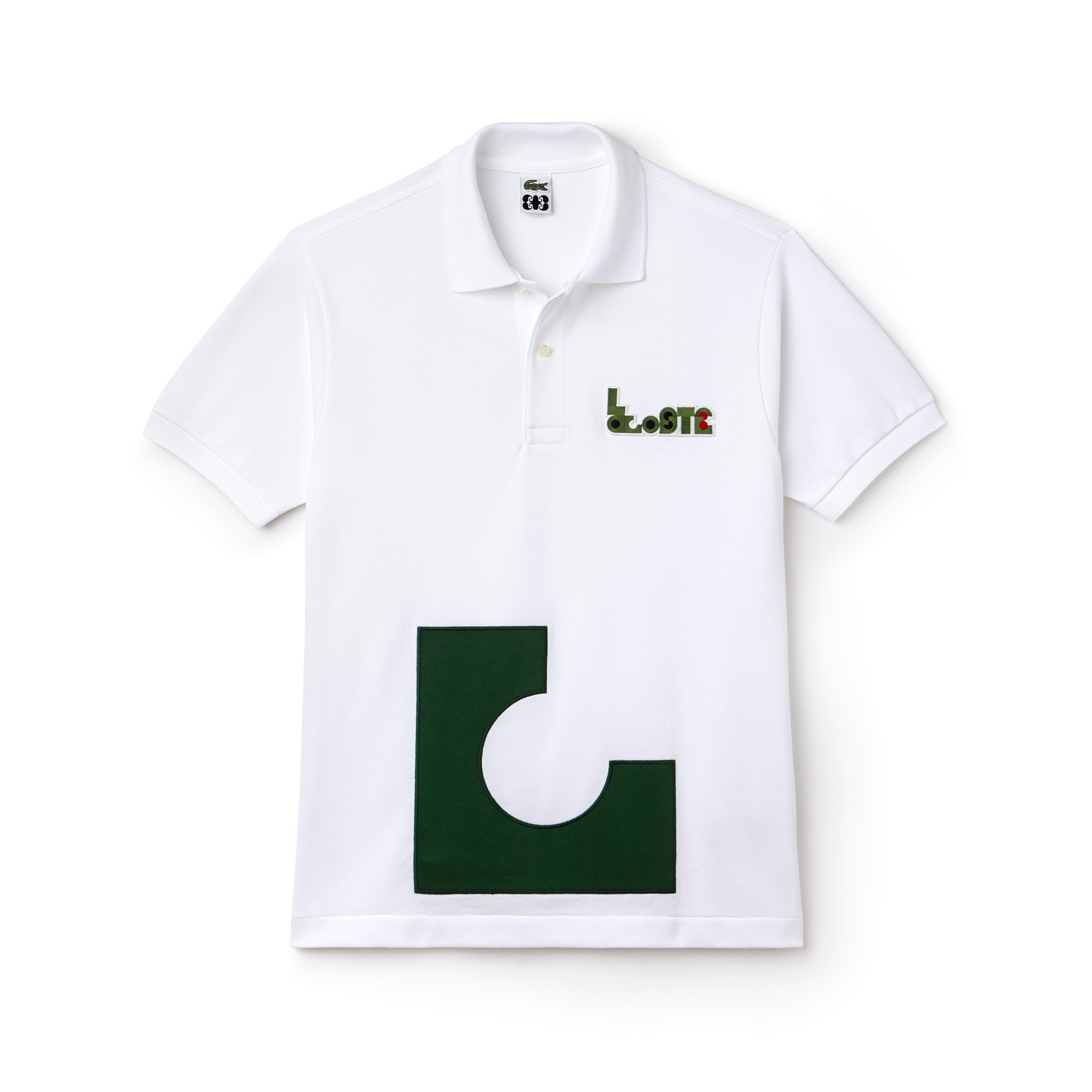 Men's Lacoste M/M Collab L.12.12 Thick Cotton Piqué Polo