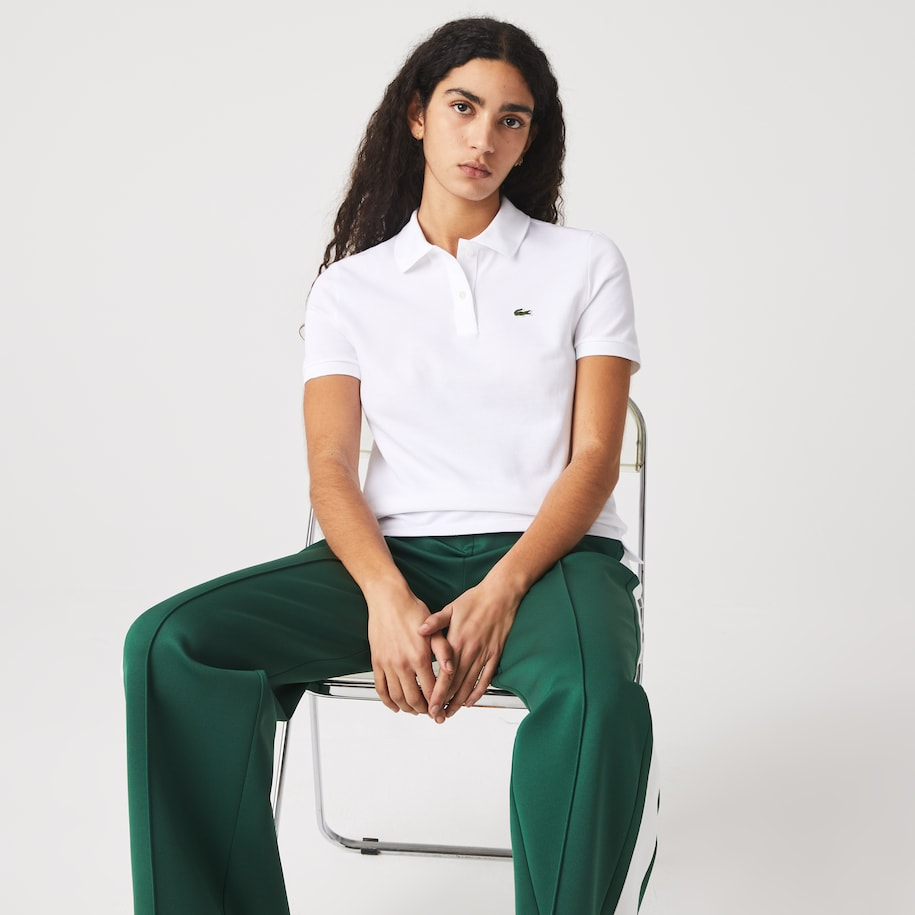 Women's Lacoste Regular Fit Soft Cotton Petit Piqué Polo Shirt