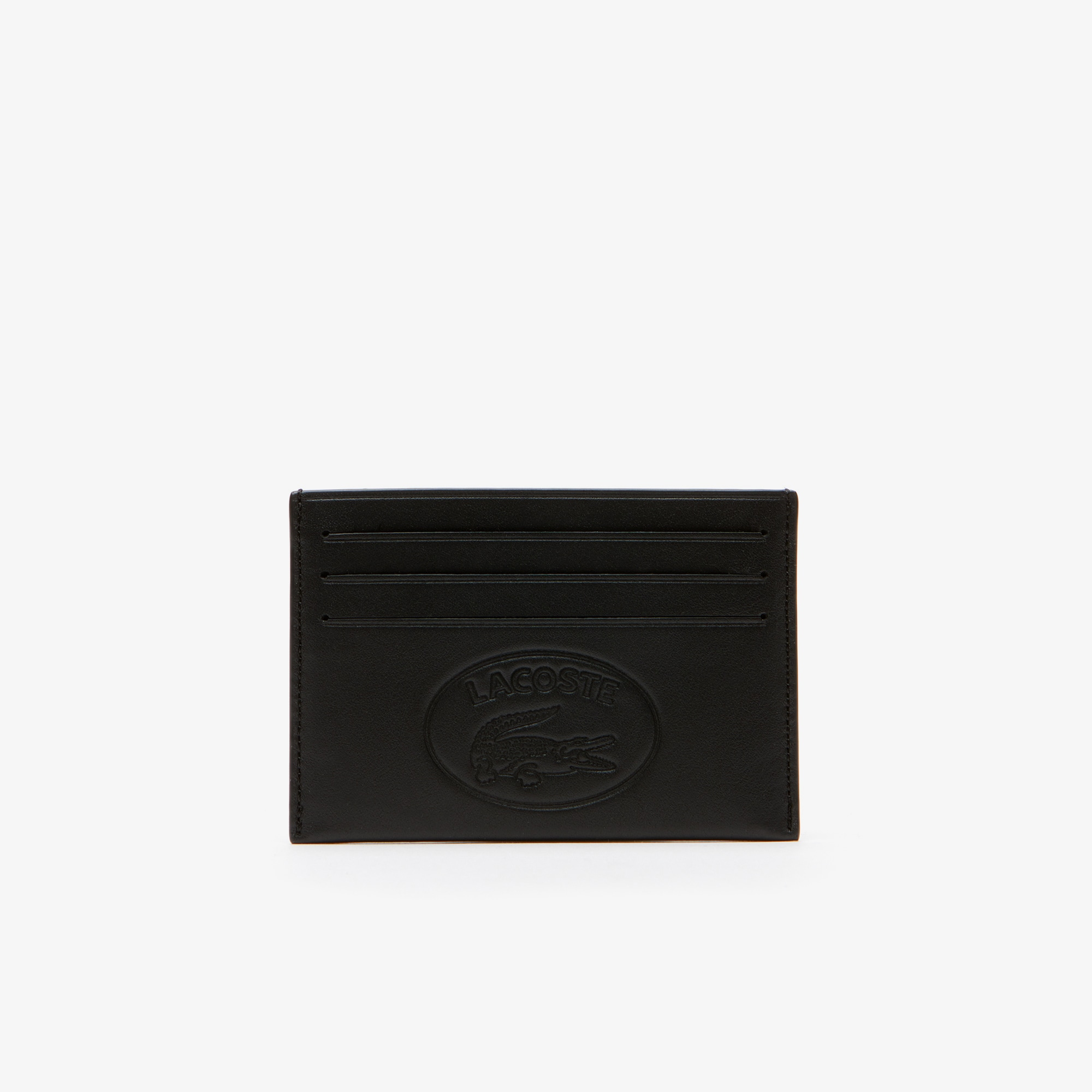 Men's L.12.12 Cuir Casual Embossed Branding Leather 6 Card Holder
