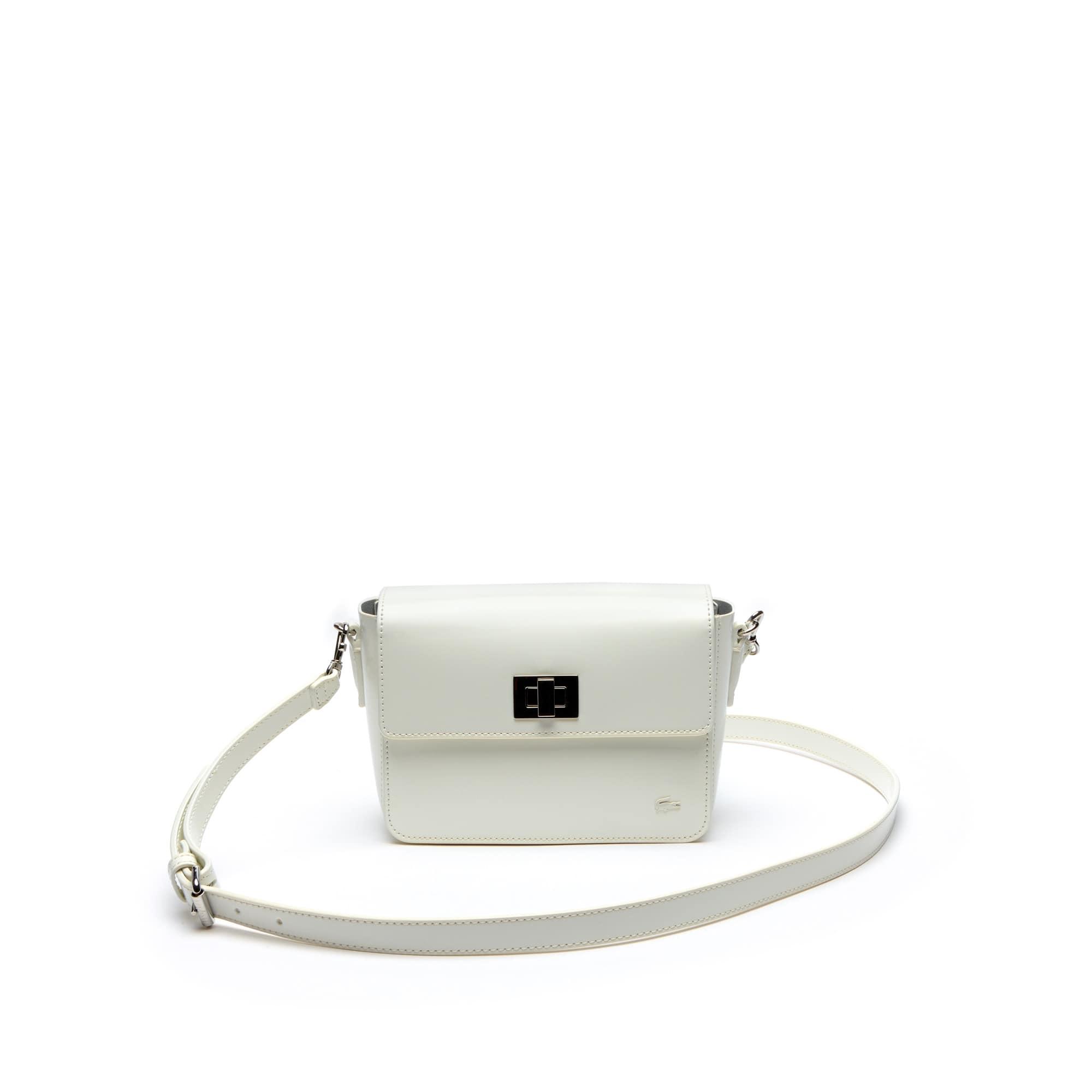Women's Mini Golf Glazed Leather Square Crossover Bag ...