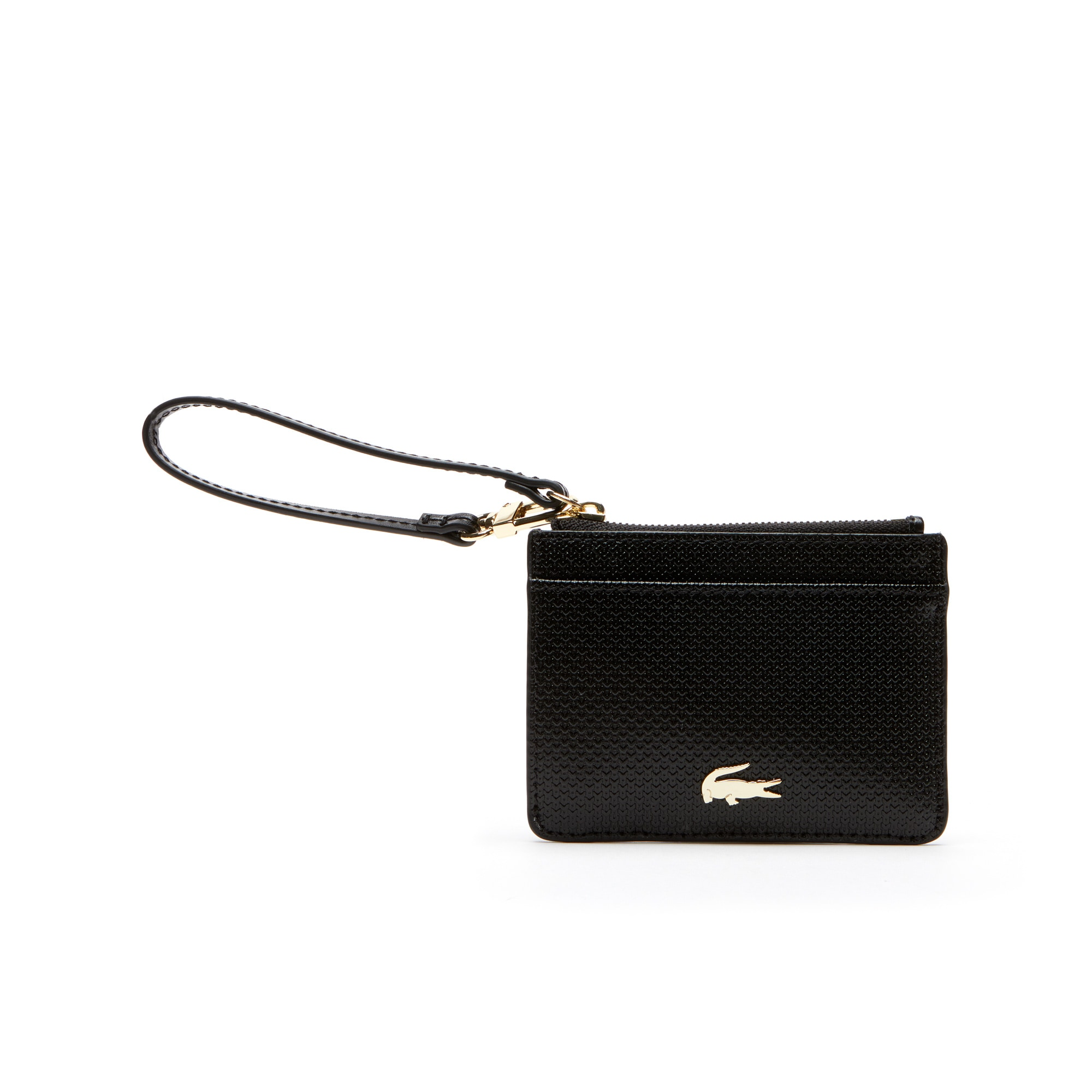 Women's Chantaco Bicolor Piqué Leather Card Holder