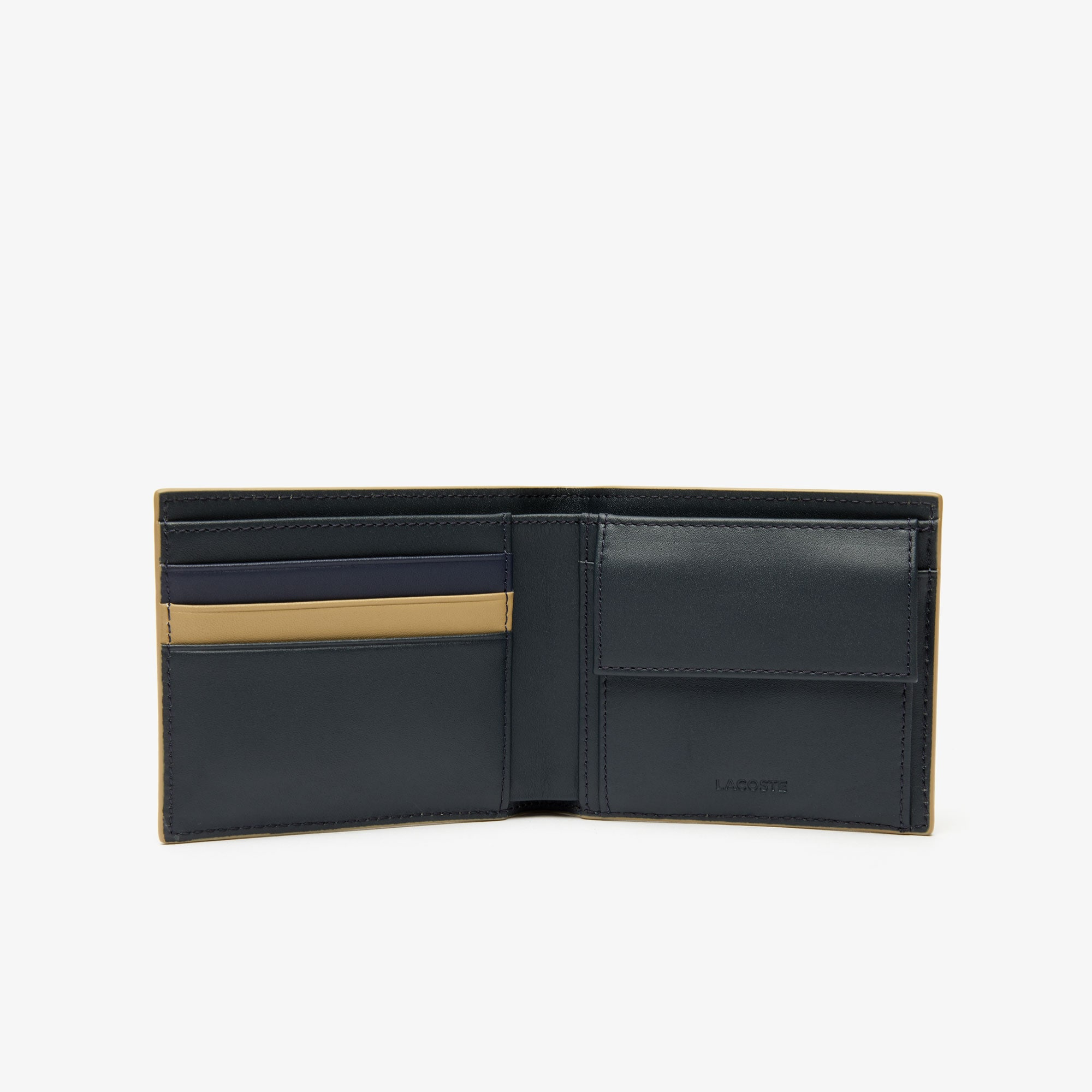Men's Fitzgerald Colourblock Leather 3 Card Wallet