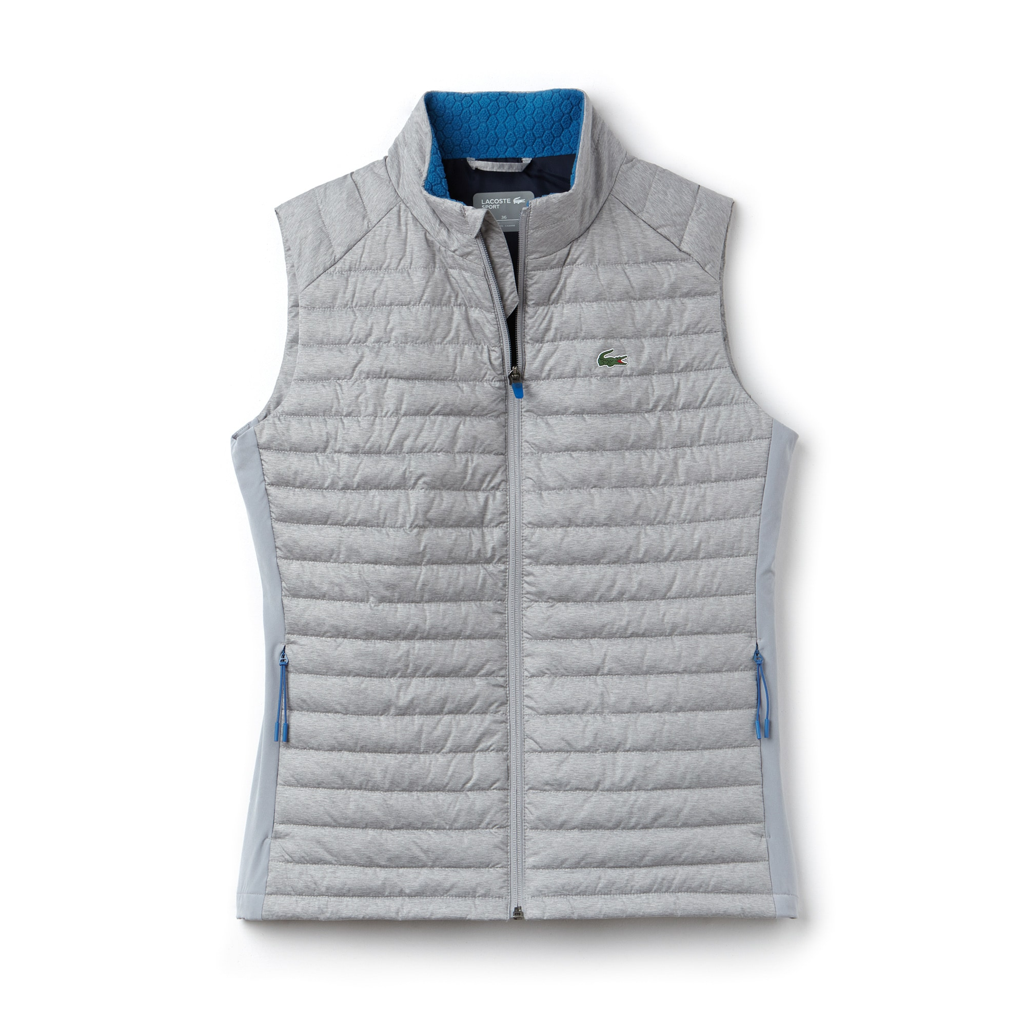 Women's Lacoste SPORT Technical Taffeta Golf Quilted Vest