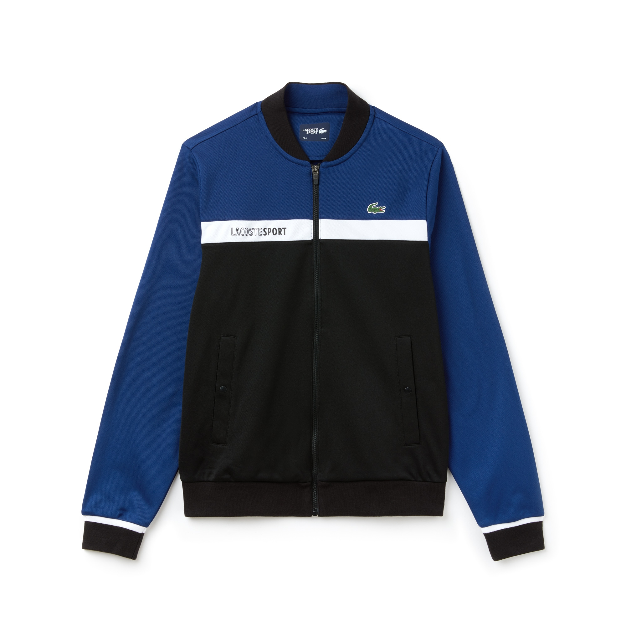 Men's Lacoste SPORT Colorblock Zip Piqué Tennis Sweatshirt