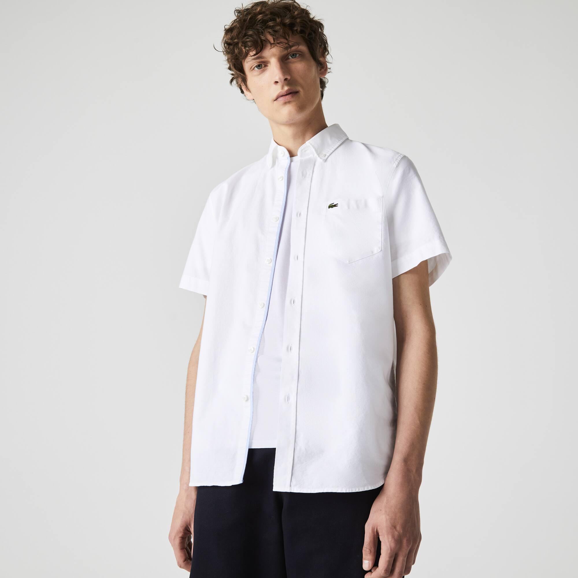 70ac676b1d6 Men s Regular Fit Oxford Cotton Shirt
