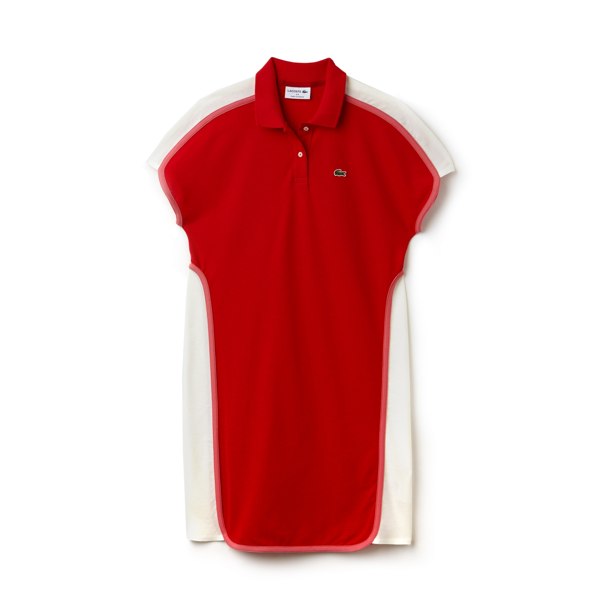 Women's Made in France Colorblock Piqué Polo Dress
