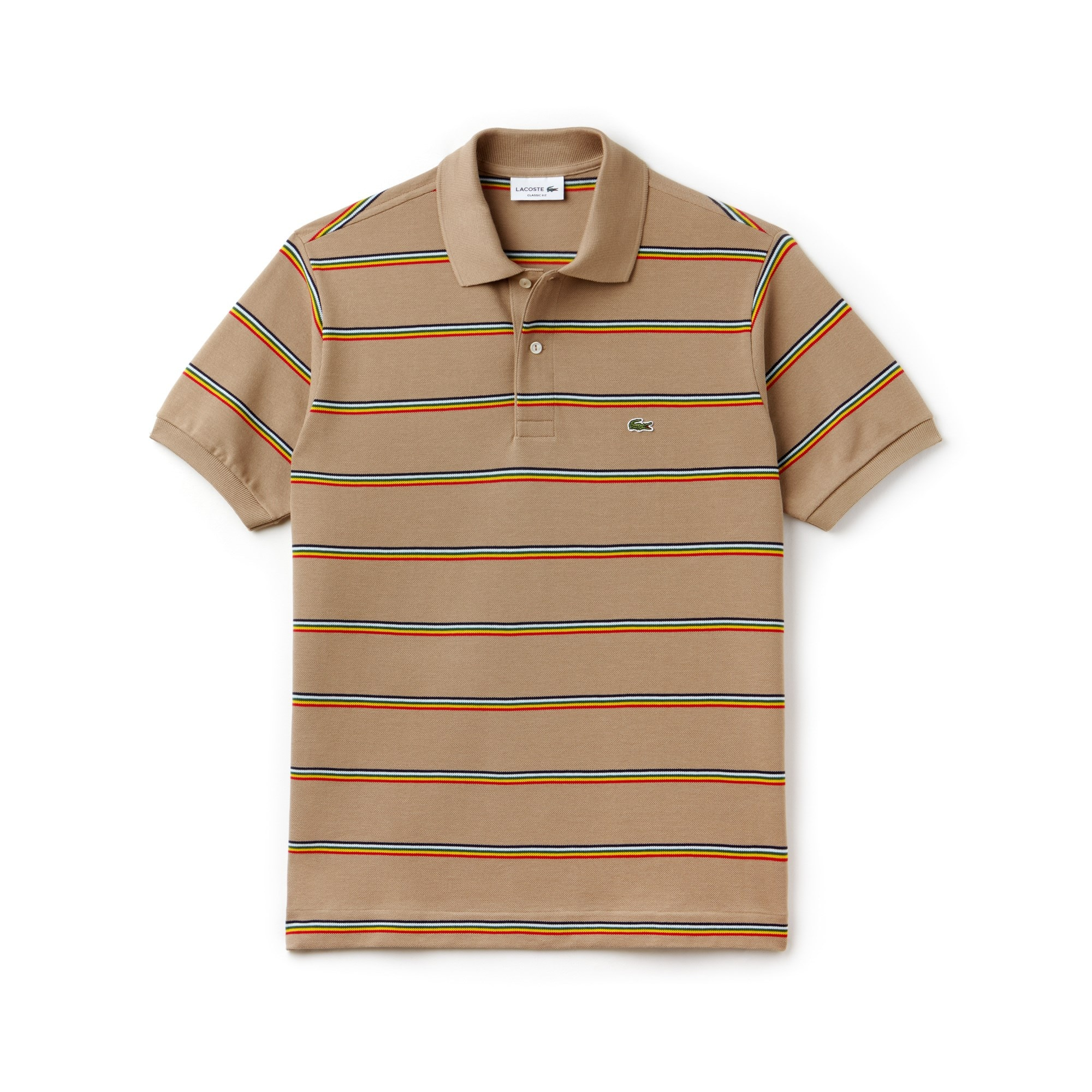 Men's Lacoste L.12.12 Striped Cotton Piqué Polo Shirt