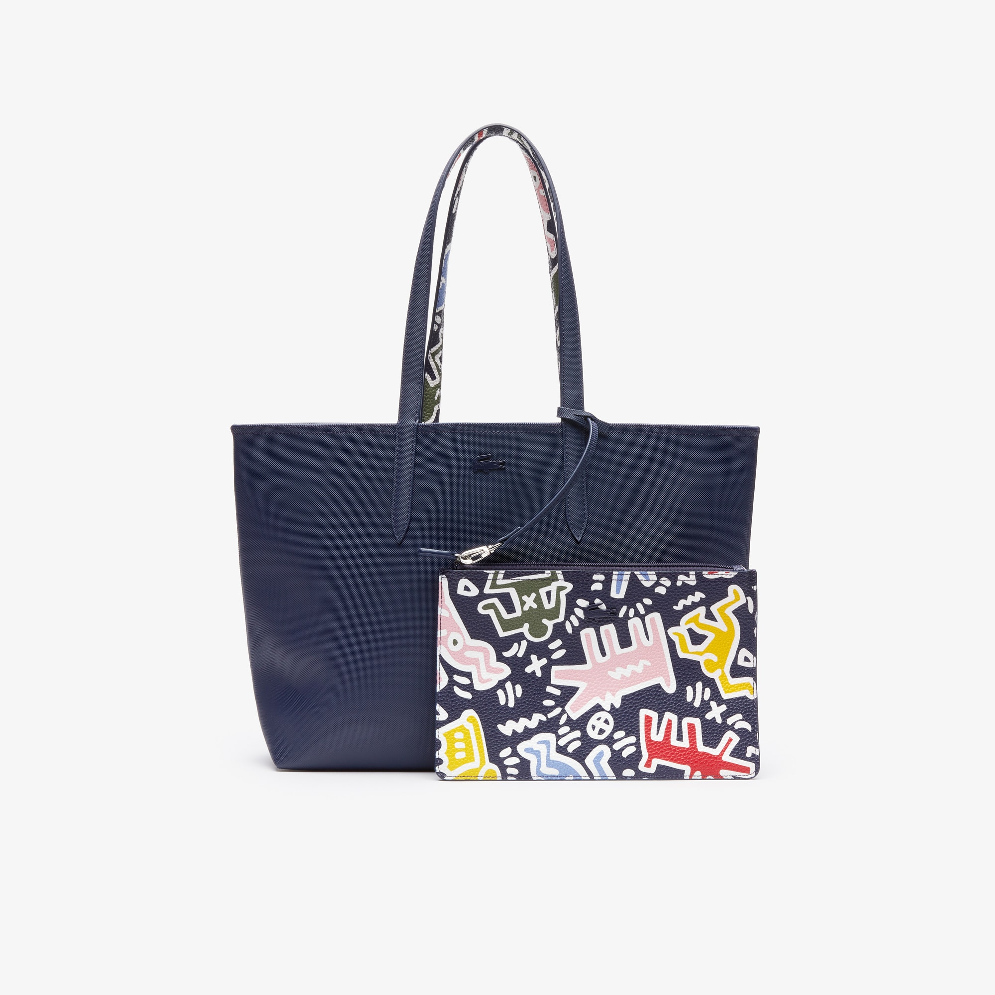 cce475dffc Limited Edition. Women's Keith Haring Print Anna Reversible Tote Bag