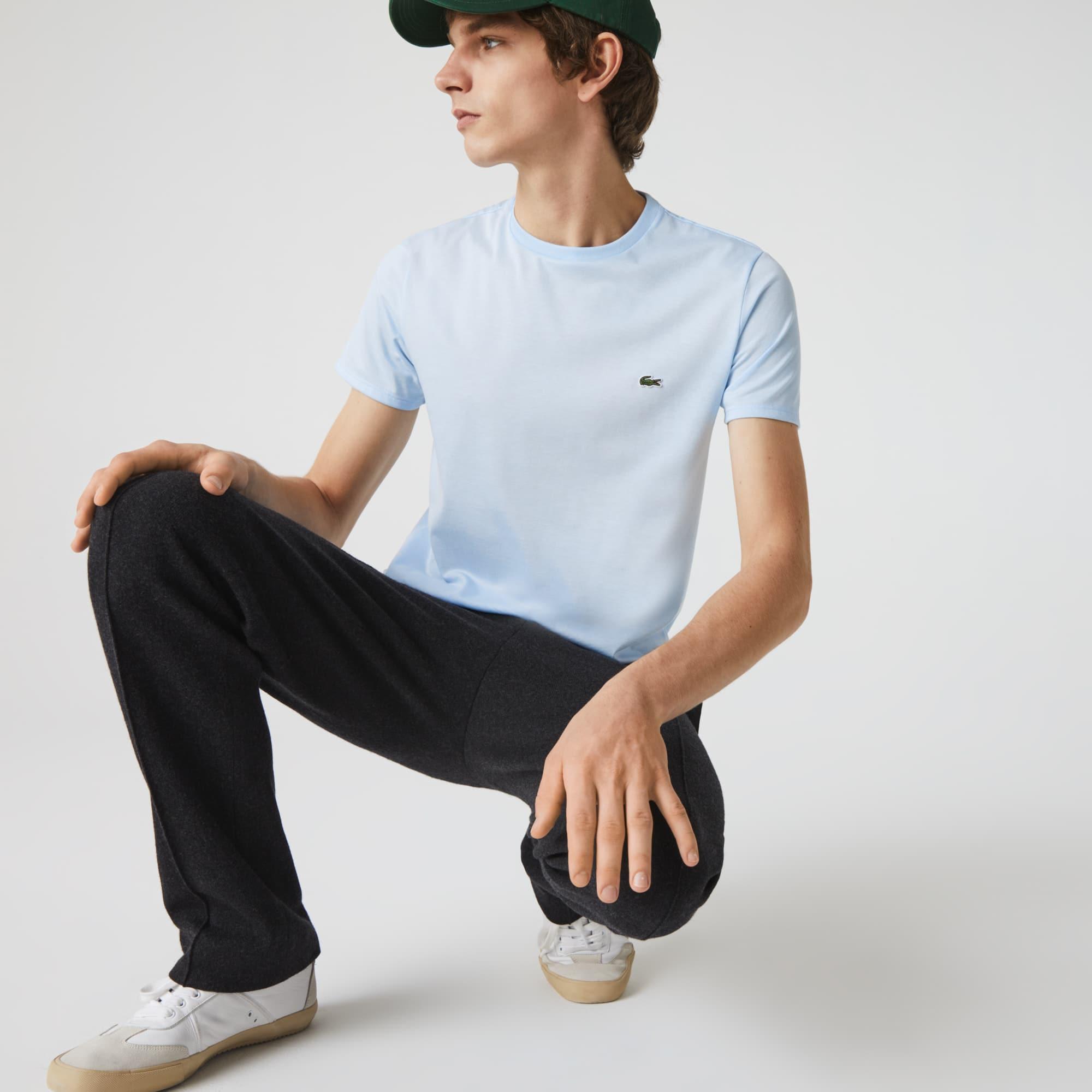 Men's Crew Neck Pima Cotton Jersey T-shirt