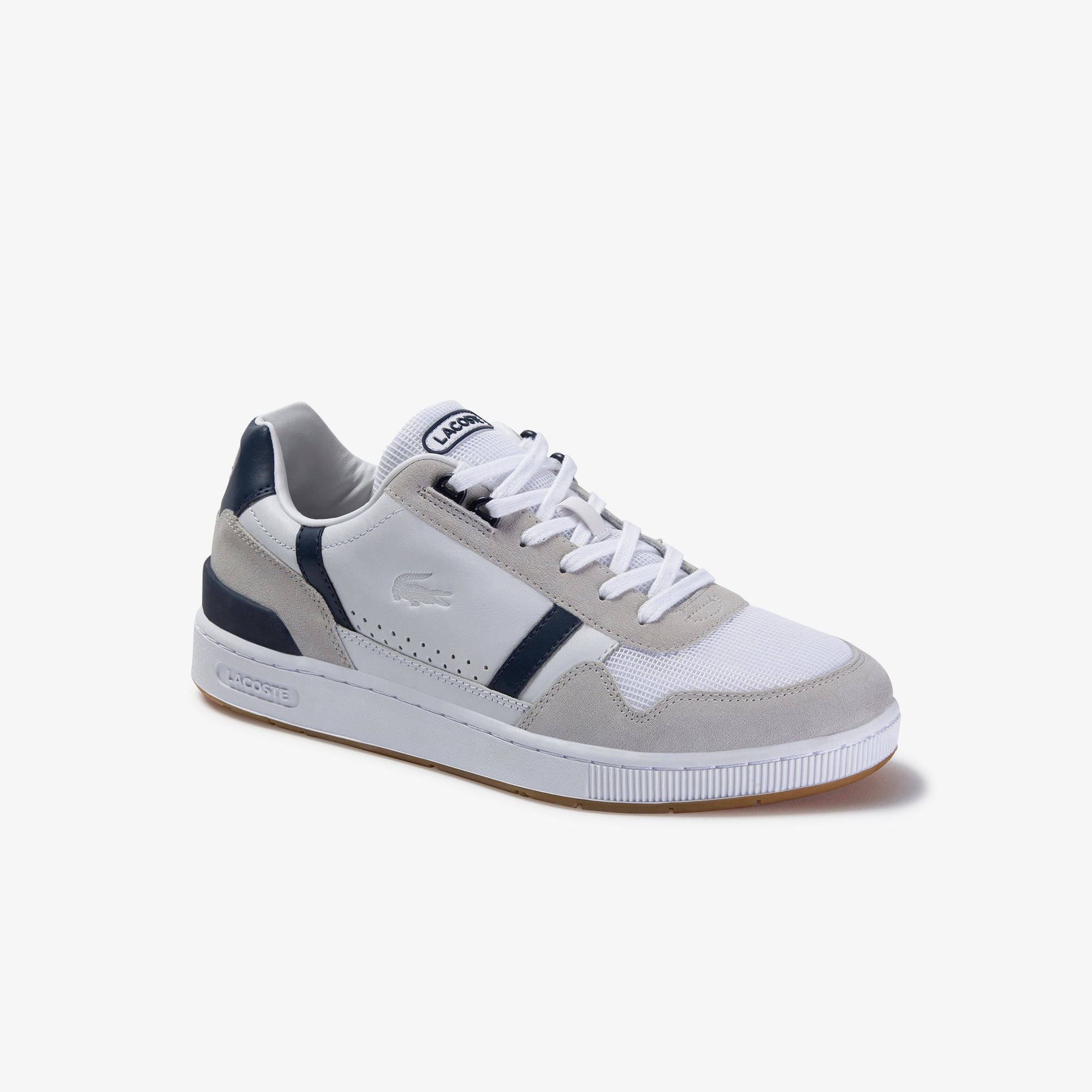 Men's T-Clip Leather Trainers