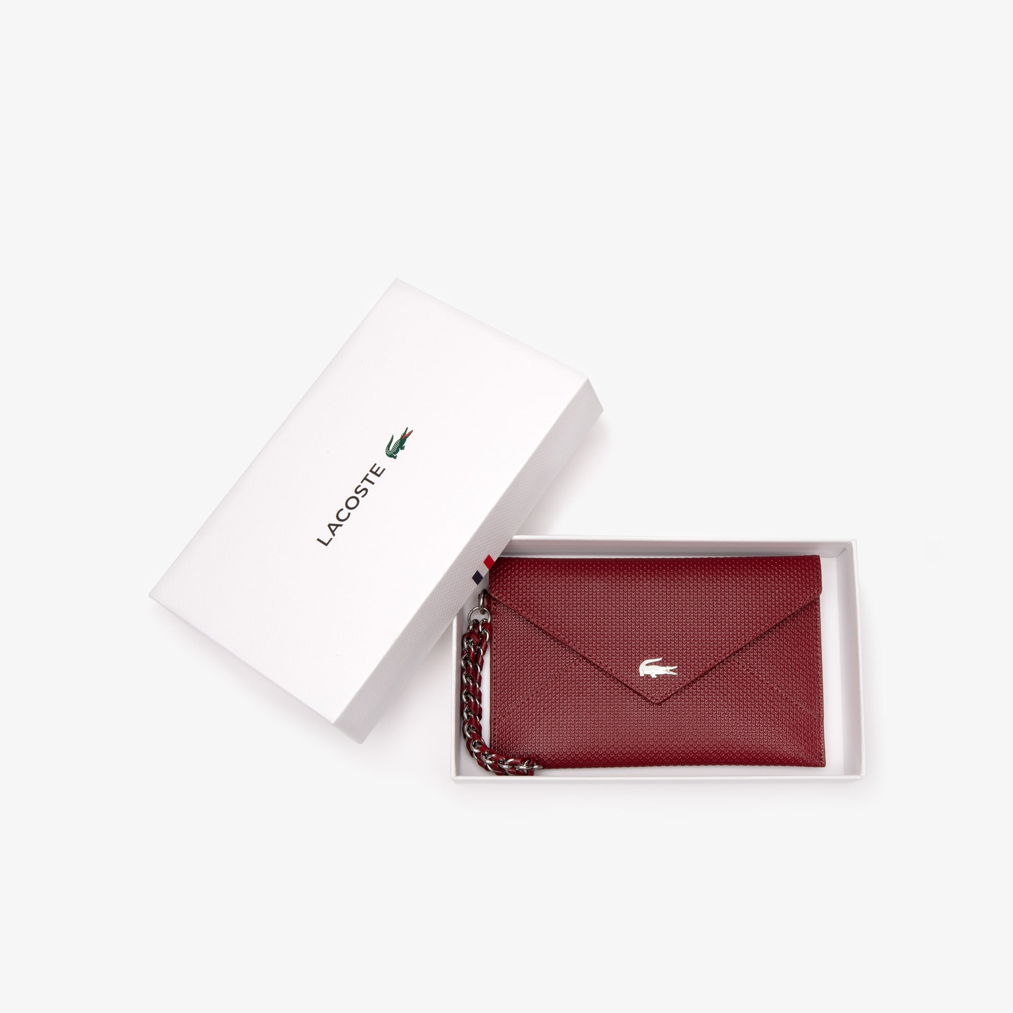 Women's Chantaco Piqué Leather Envelope Wallet