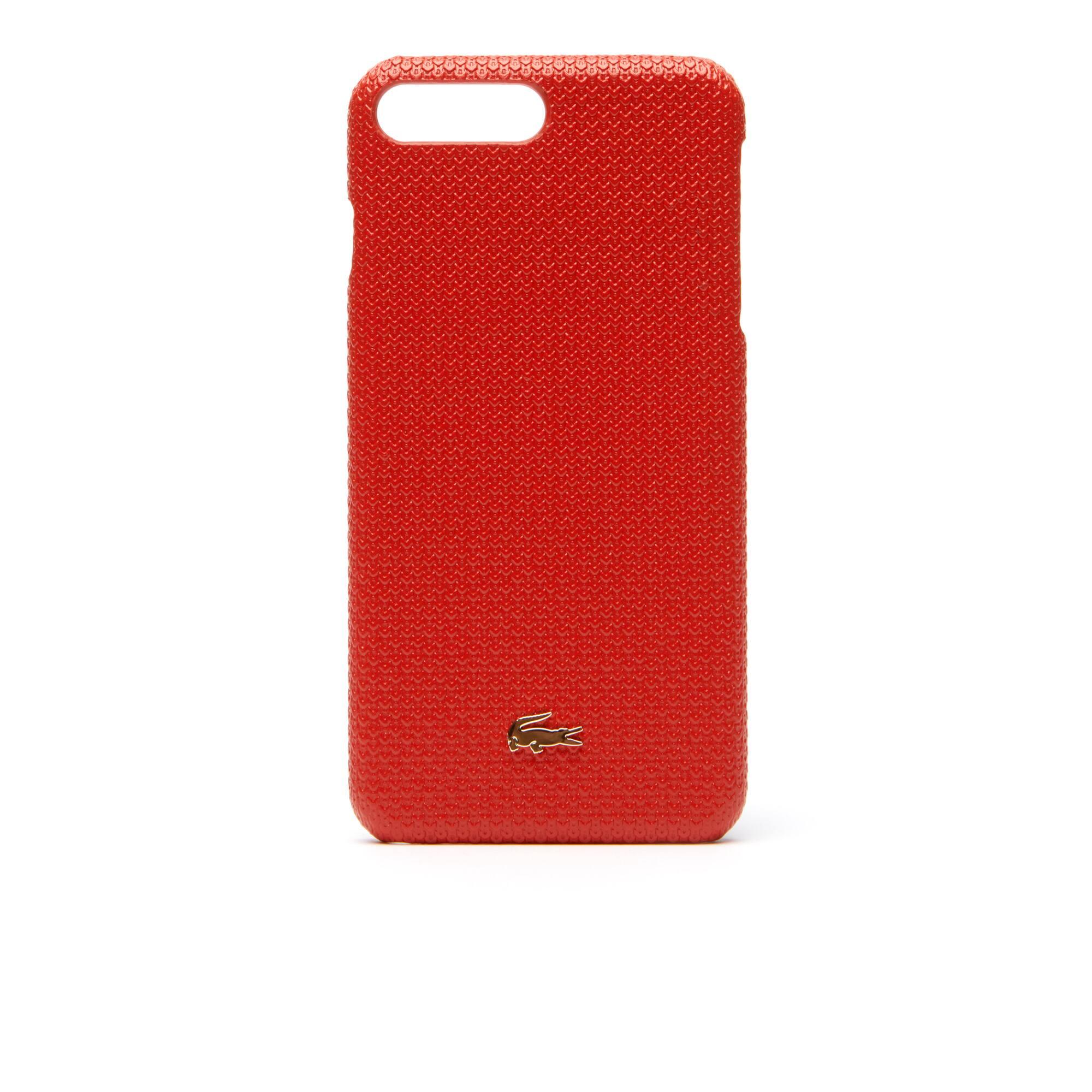 Women's Chantaco Piqué Leather iPhone 8+ Shell