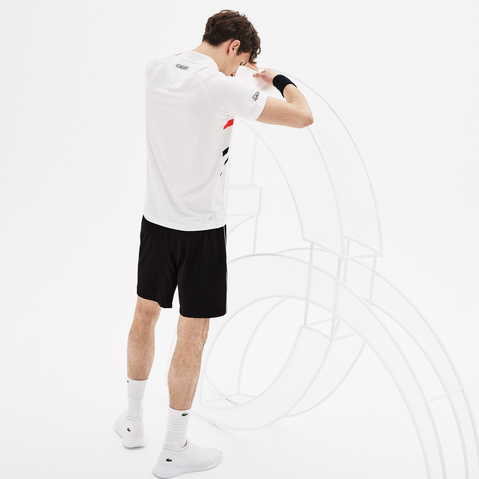 Men's Lacoste SPORT NOVAK DJOKOVIC SUPPORT WITH STYLE COLLECTION...
