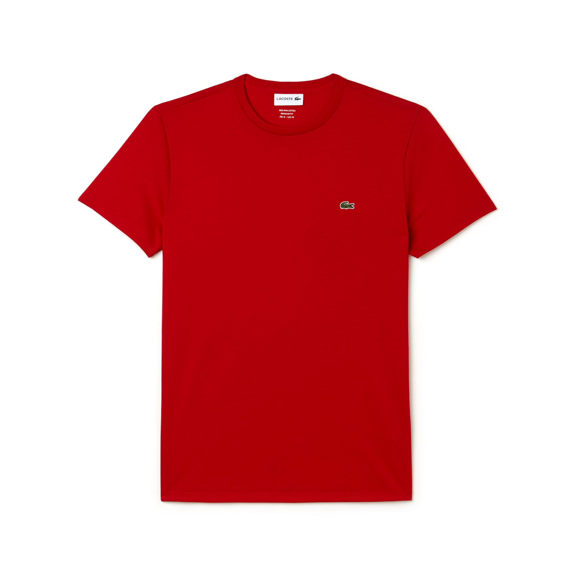 Men's V Neck Lacoste Jersey Pima T-shirt