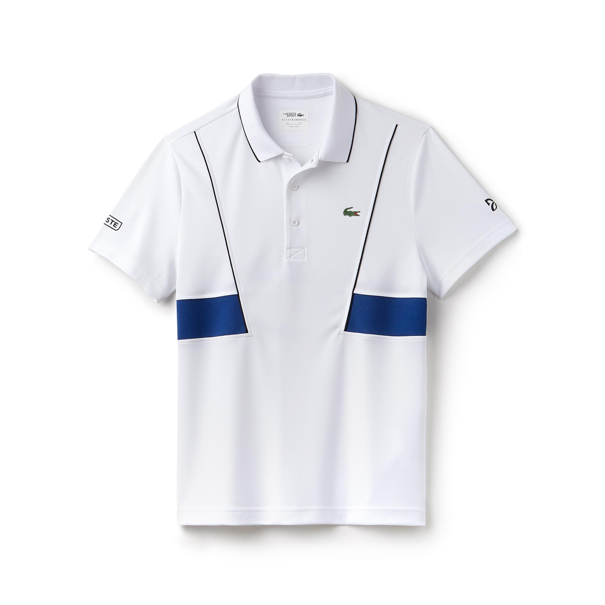 Men's LACOSTE SPORT NOVAK DJOKOVIC COLLECTION Tech Piqué Polo Shirt