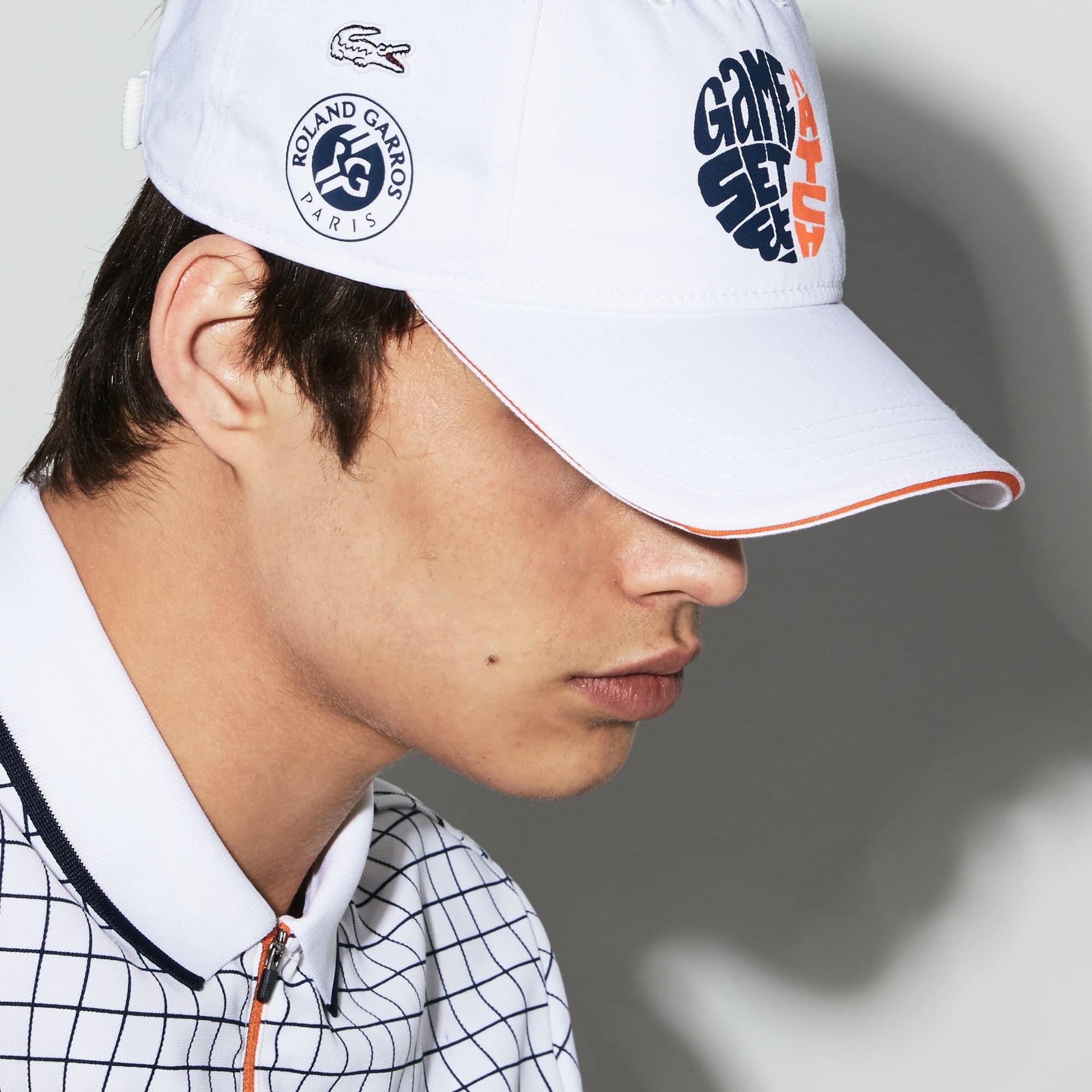Men's Lacoste SPORT Roland Garros Edition Gabardine Cap