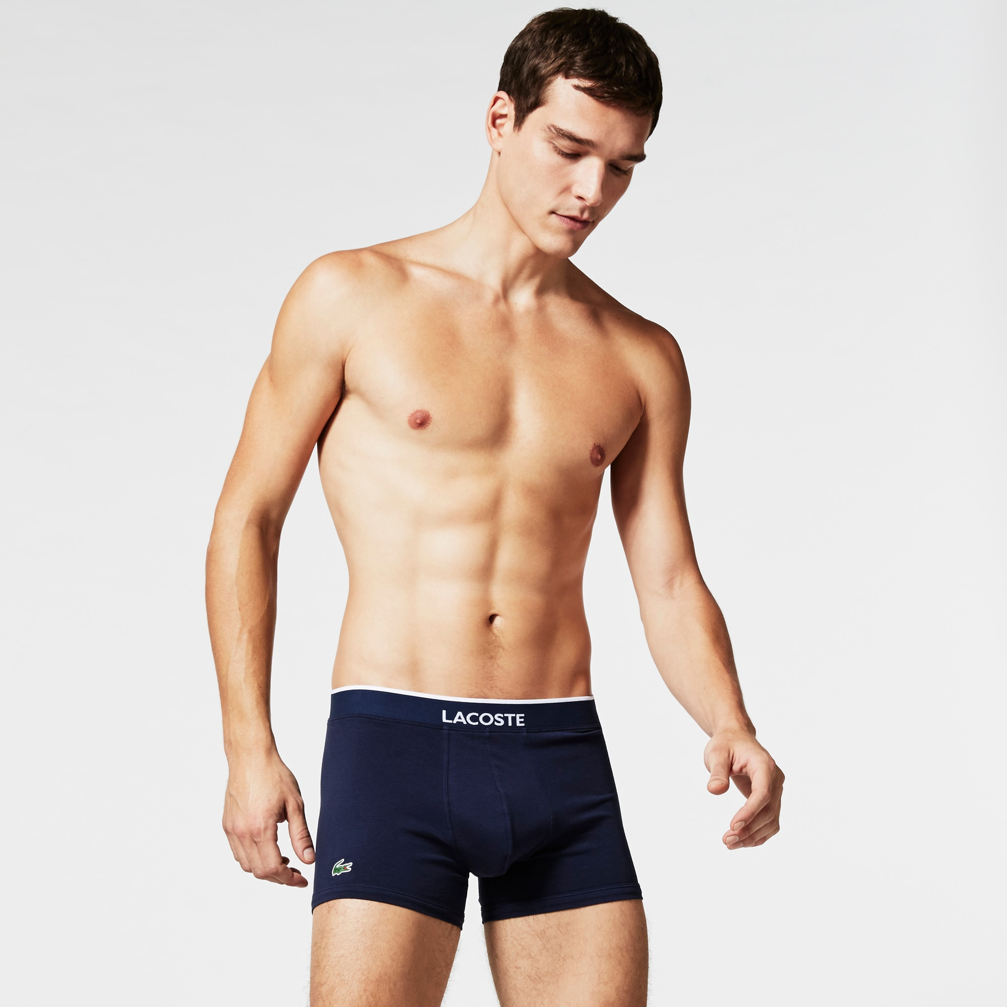 Pack Of 2 Colours Plain Boxer Briefs