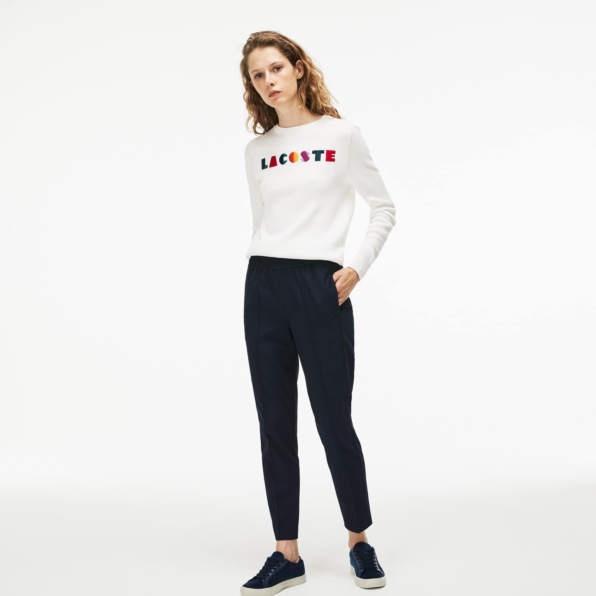 Women's City Jog Regular Fit Striped Stretch Urban Jogging Pants