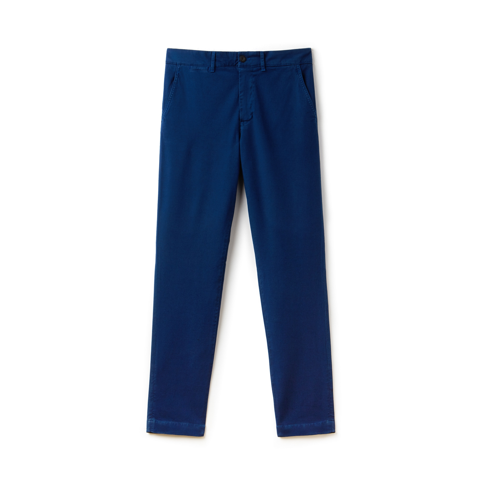 Men's Slim Fit Texturized Stretch Cotton Chino Pants