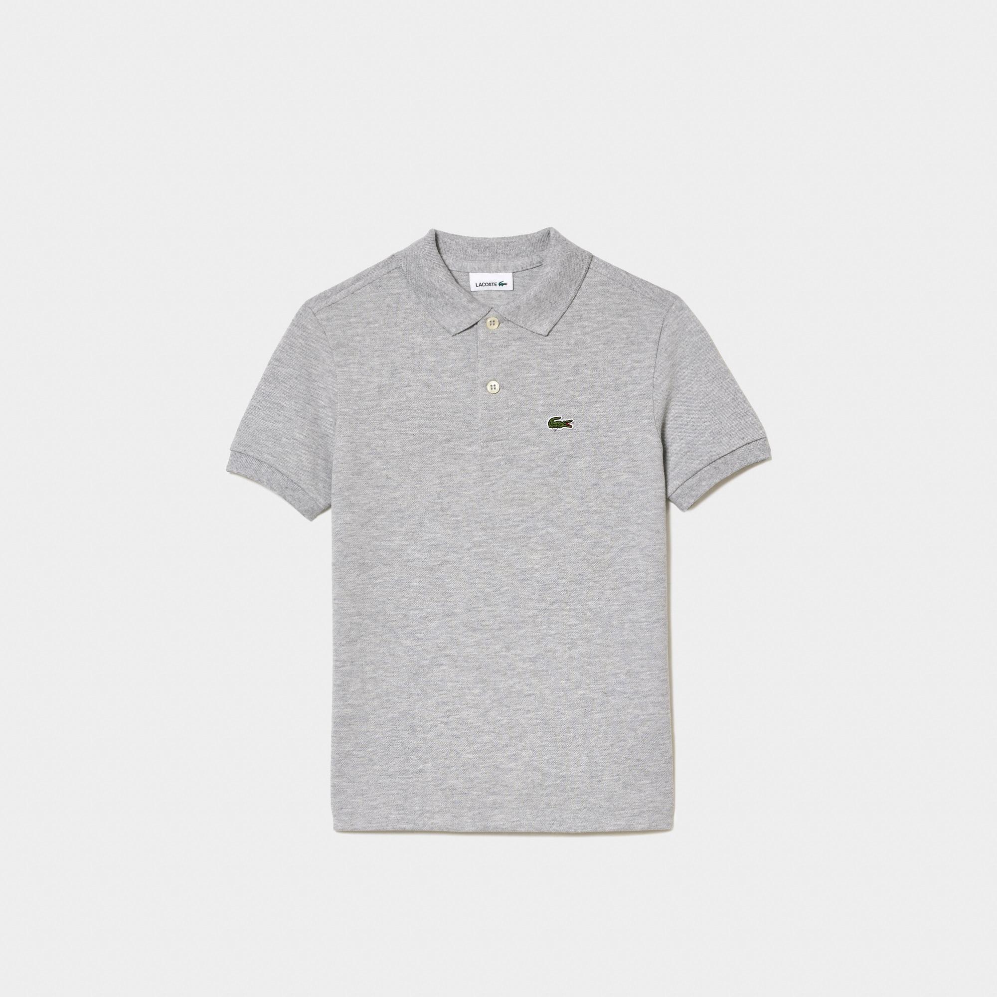 Boys' Lacoste Petit Piqué Polo