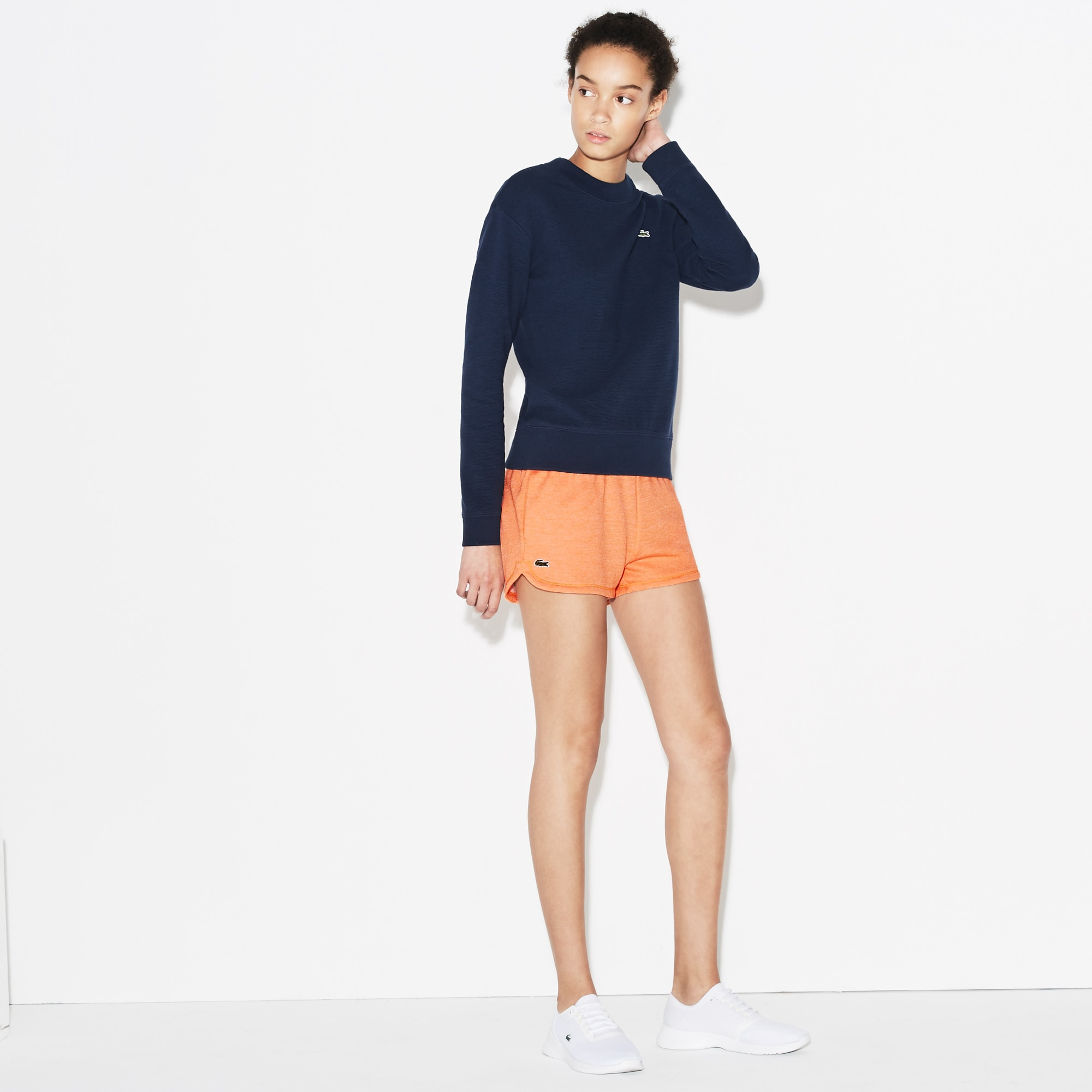 Women's Lacoste SPORT Tennis Fleece Shorts