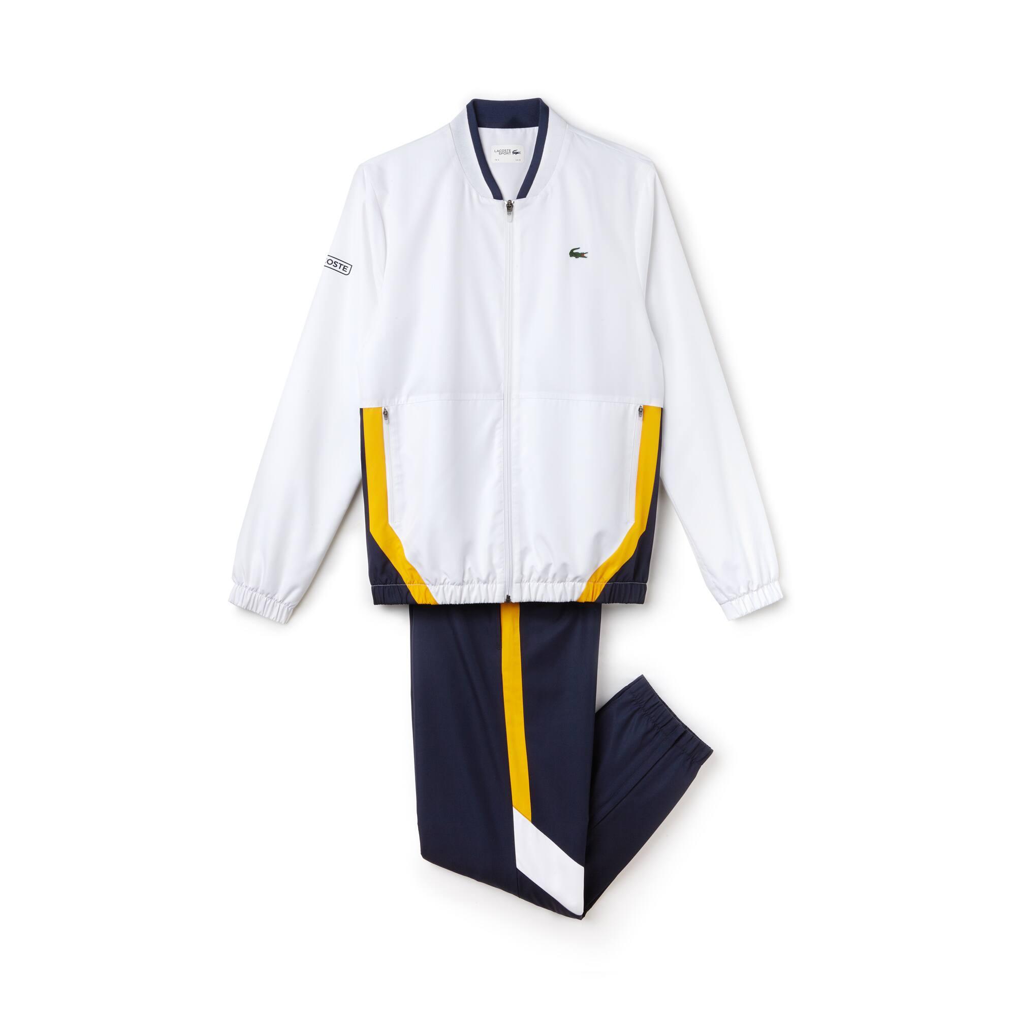 Men's Lacoste SPORT Colorblock Taffeta Tennis Tracksuit