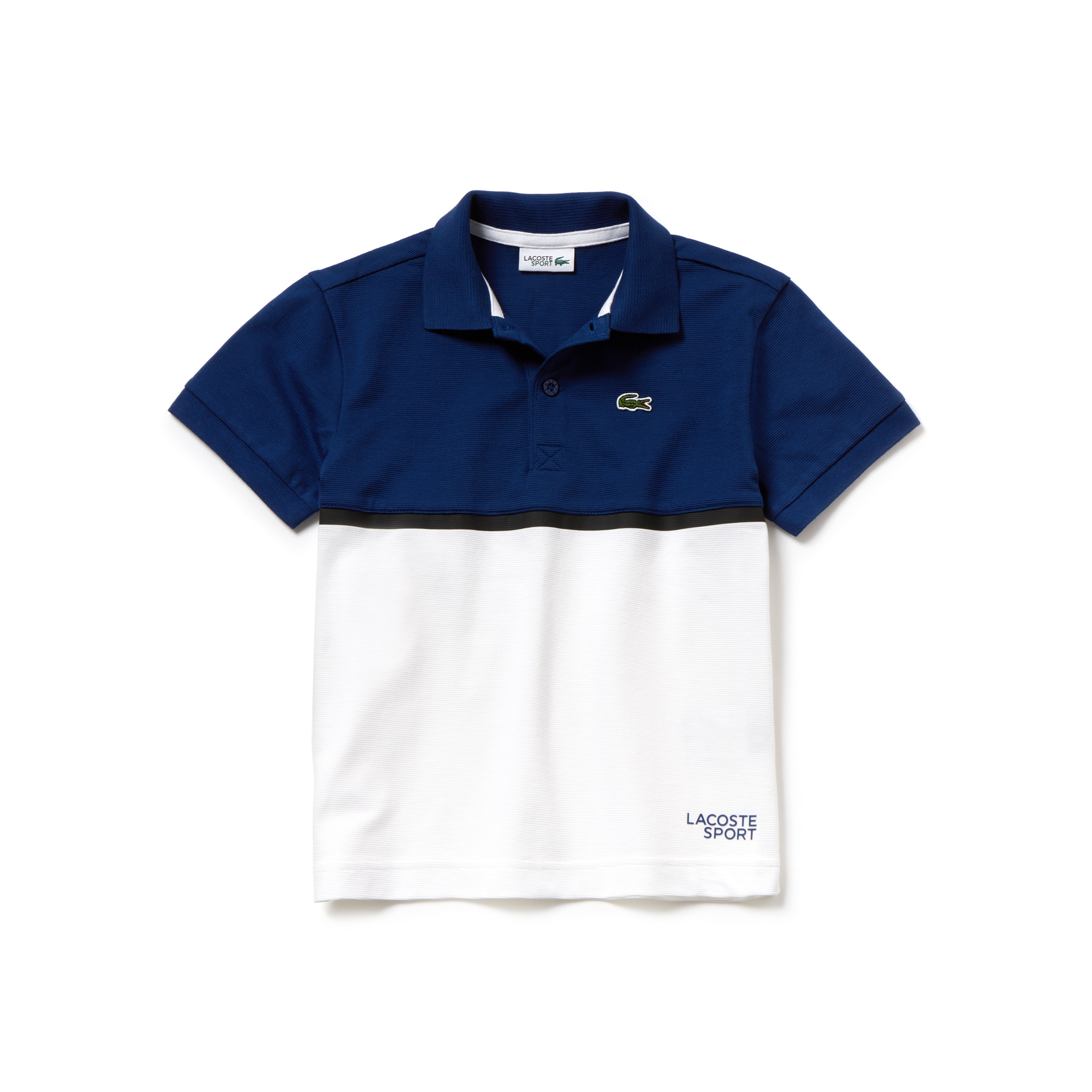 Boys' Lacoste SPORT Colorblock Ultra-Light Cotton Tennis Polo