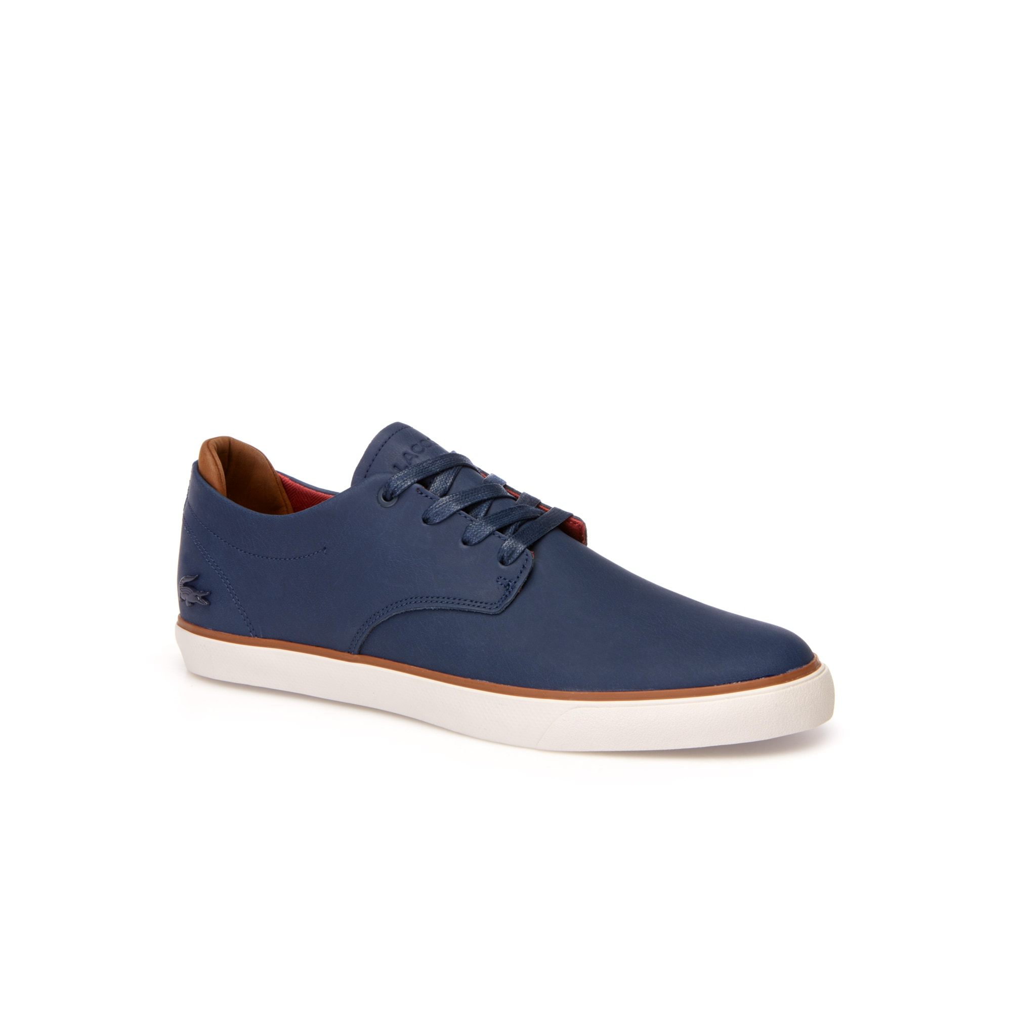 Men's Esparre Leather and Suede Trainers