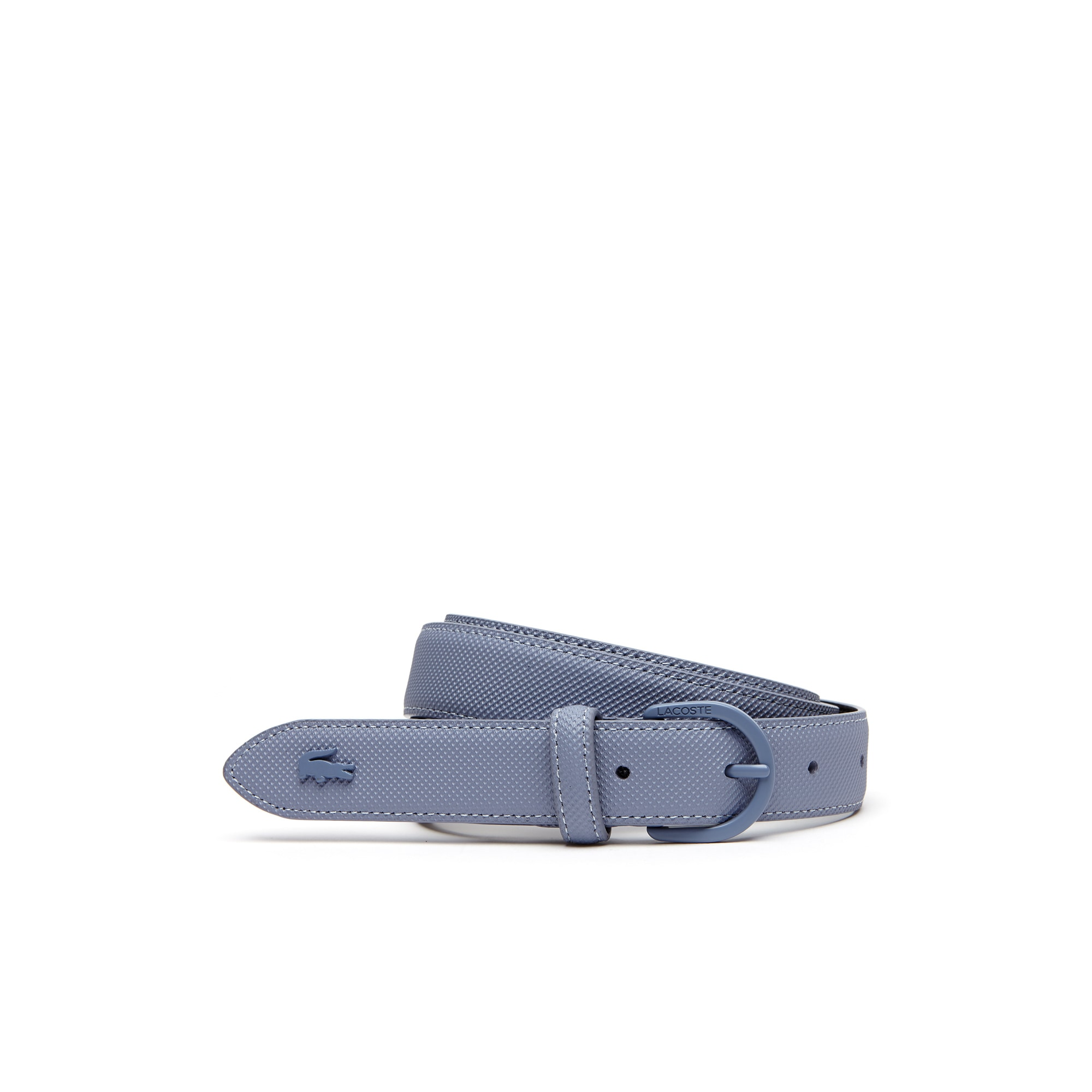 Women's L.12.12 Concept Monochrome Piqué Tongue Buckle Belt