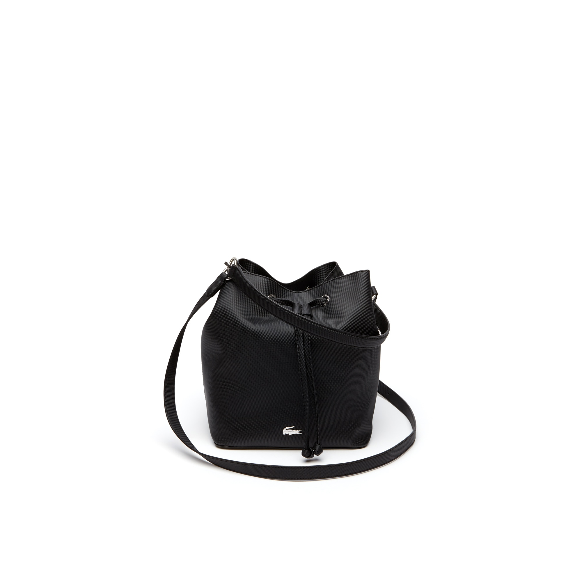Women's Daily Classic Coated Piqué Canvas Bucket Bag