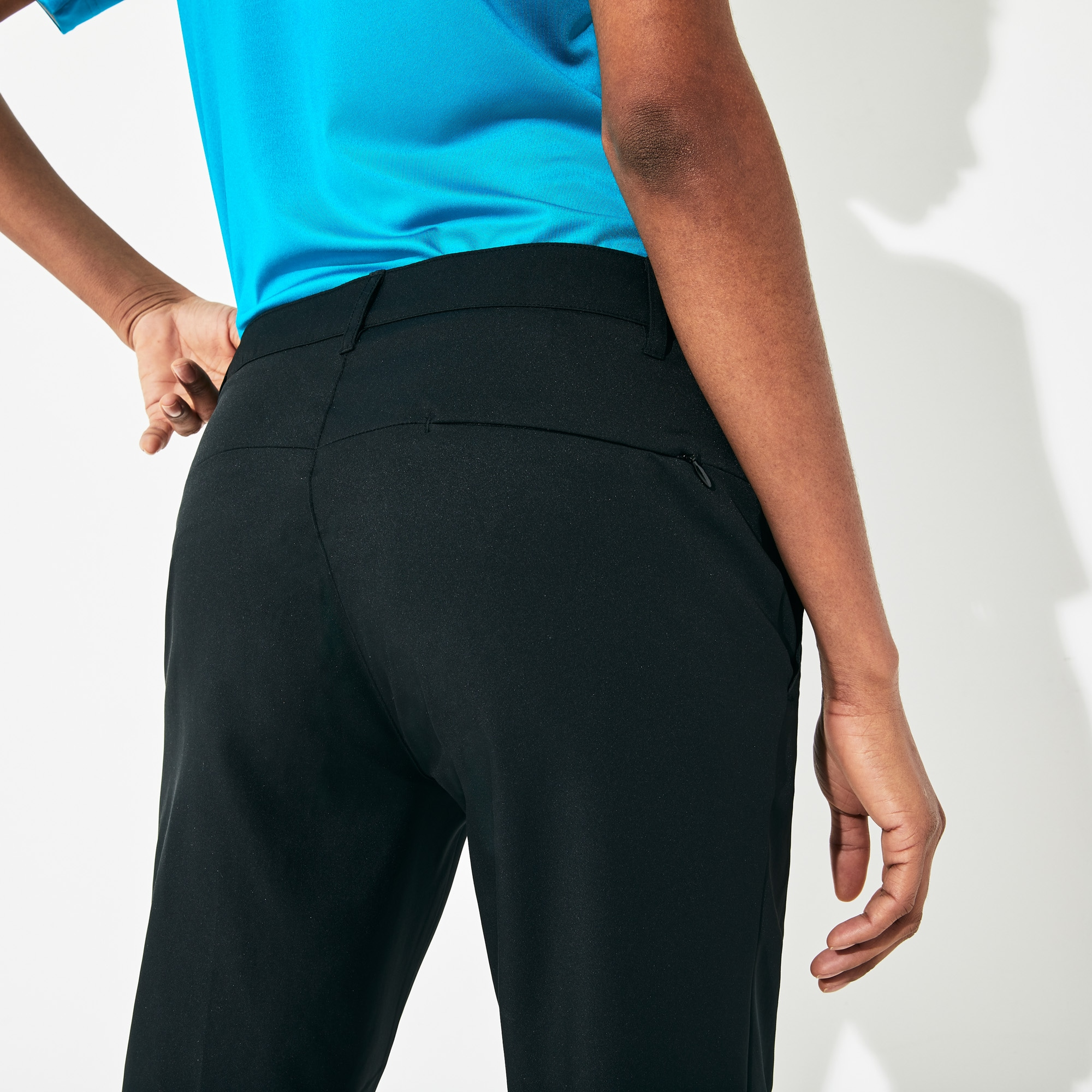 Women's Lacoste SPORT Golf Pleated Tech Gabardine Pants