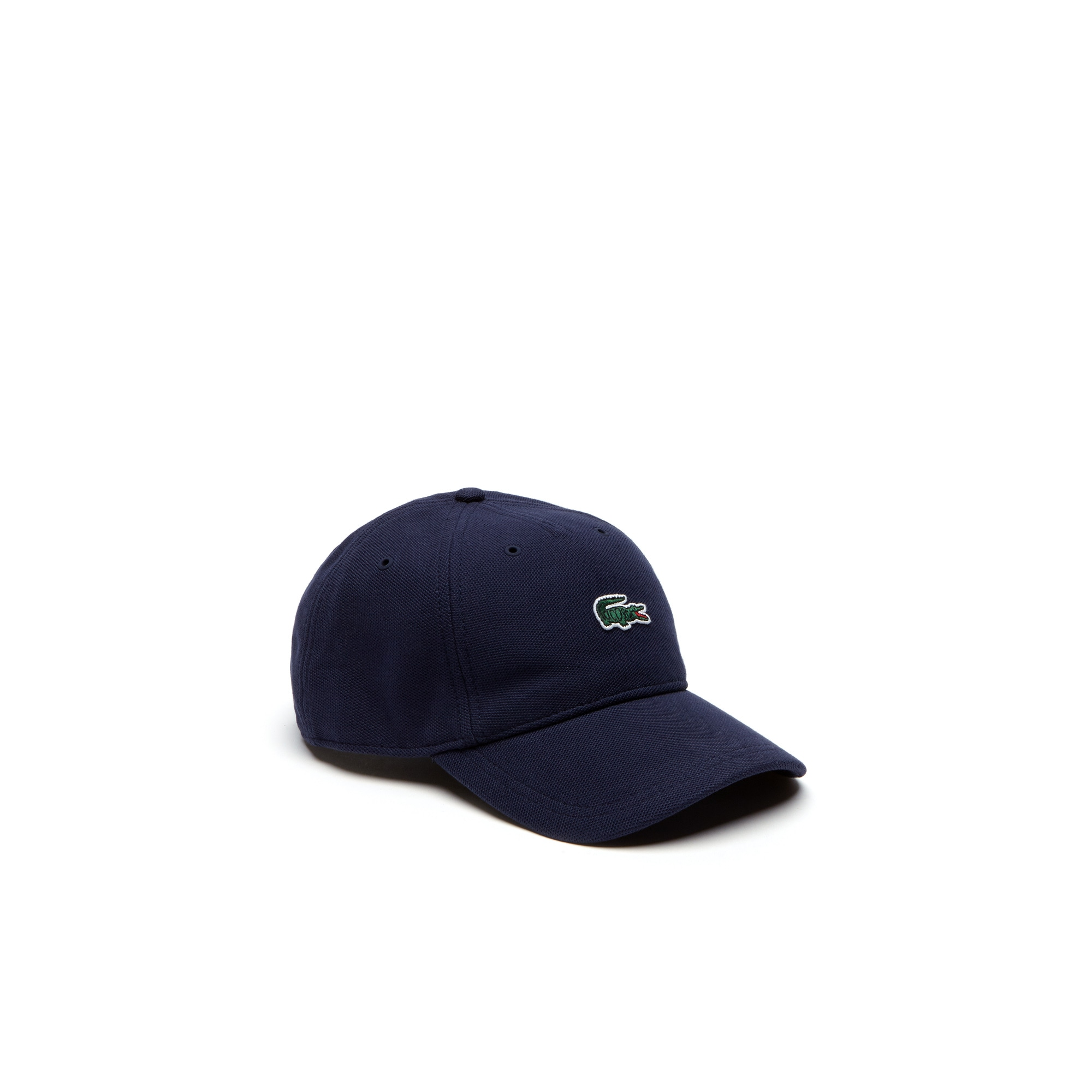 Men's Crocodile Patch Piqué Cap