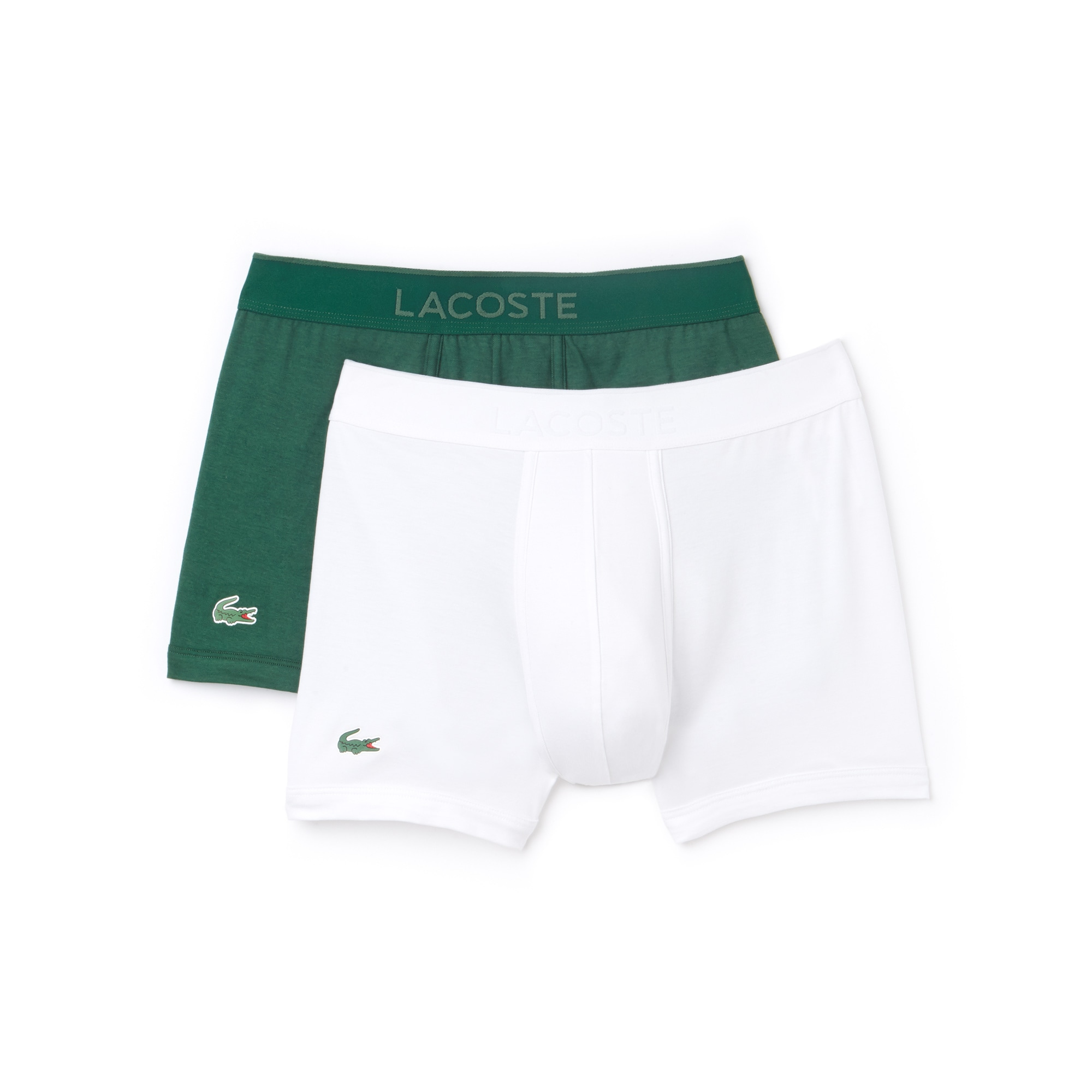 Pack Of 2 Colours Piqué Boxer Briefs L.12.12