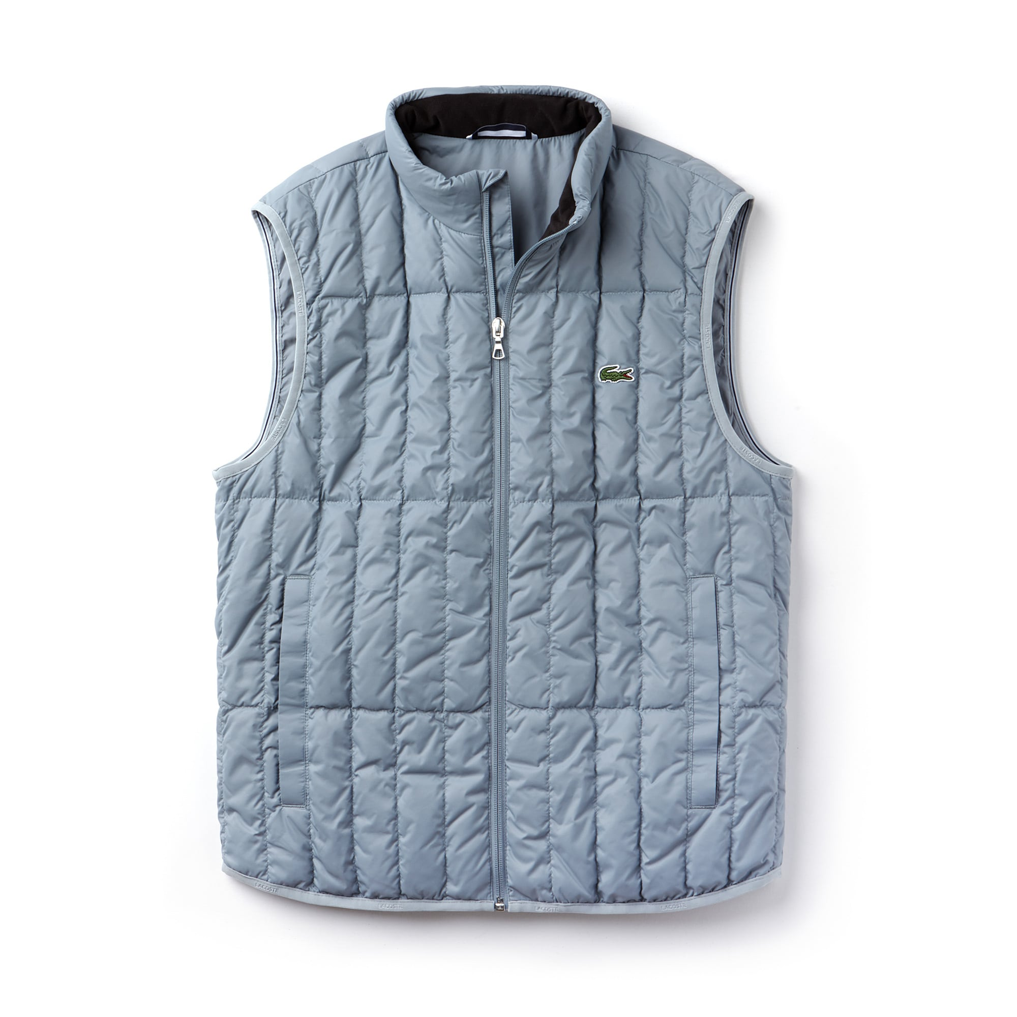 Men's Built-in Hood Quilted Vest