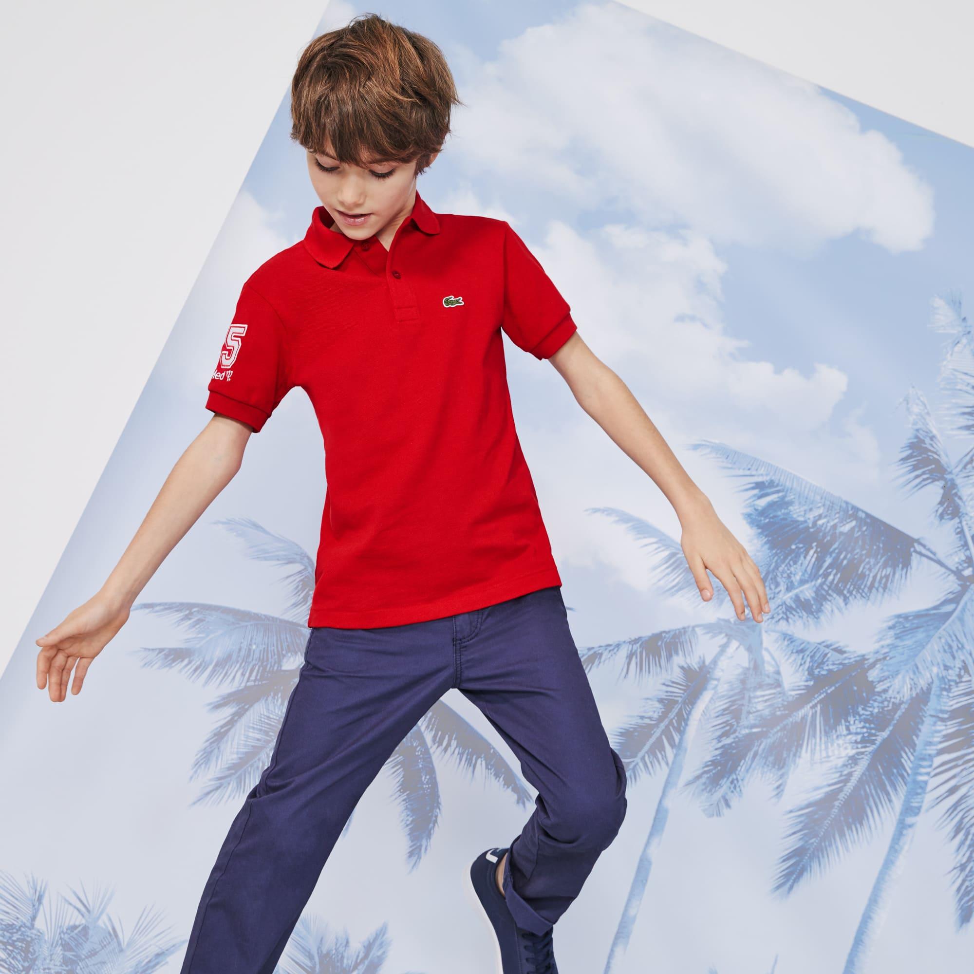 Lacoste Club Med Kid's Polo Shirt WIDH29YE