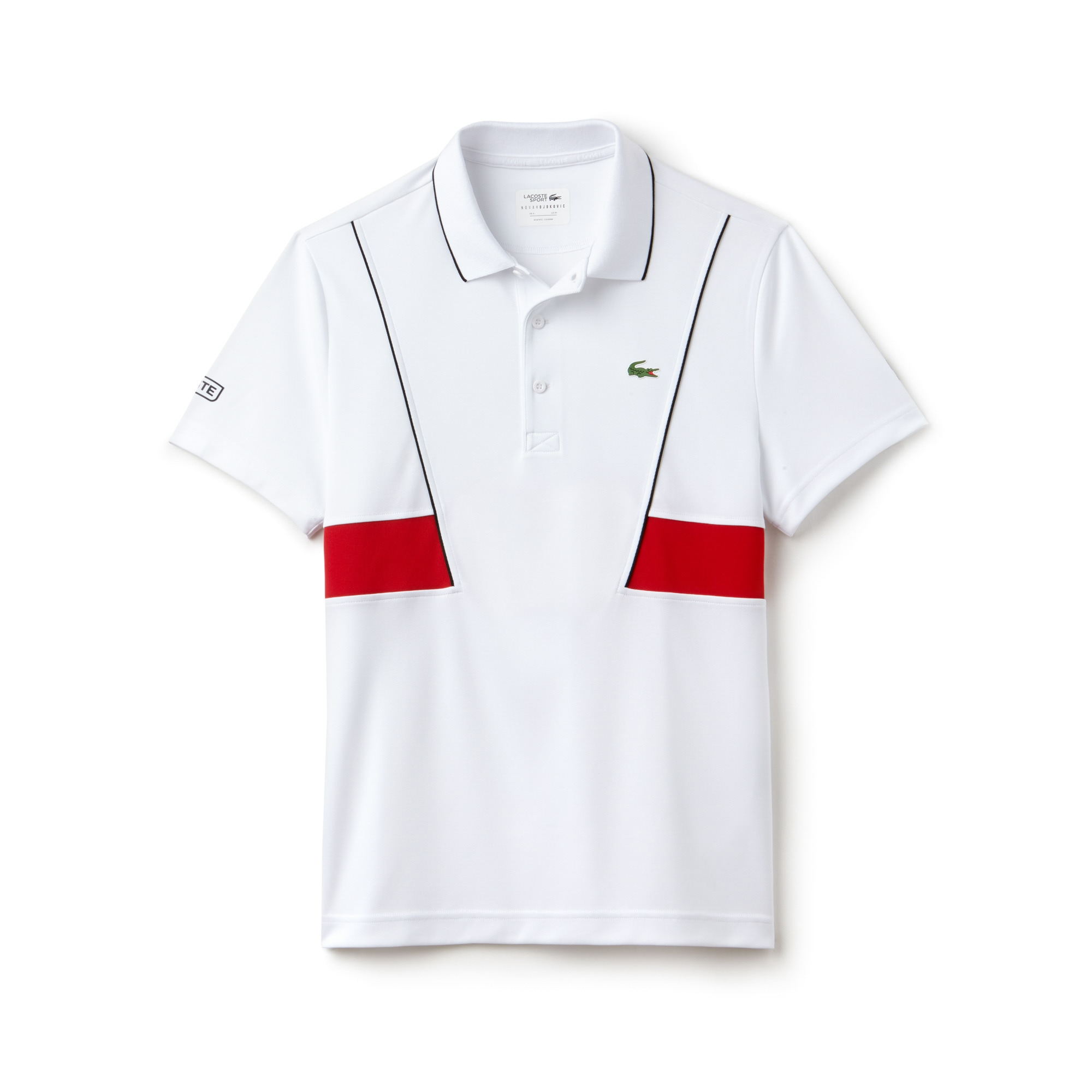 Men's LACOSTE SPORT NOVAK DJOKOVIC COLLECTION Tech Piqué Polo...