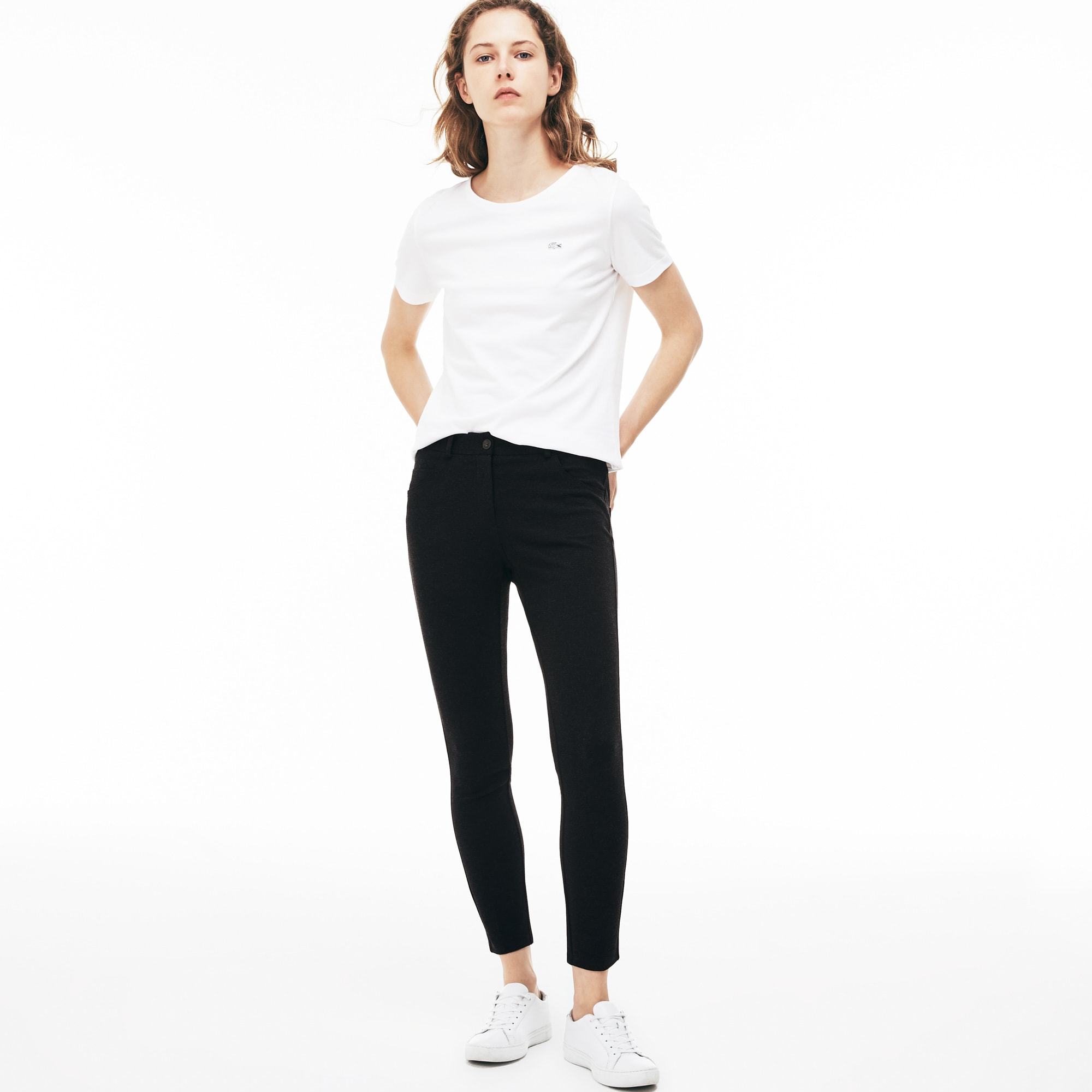 Women's Five-Pocket Stretch Milano Knit Pants