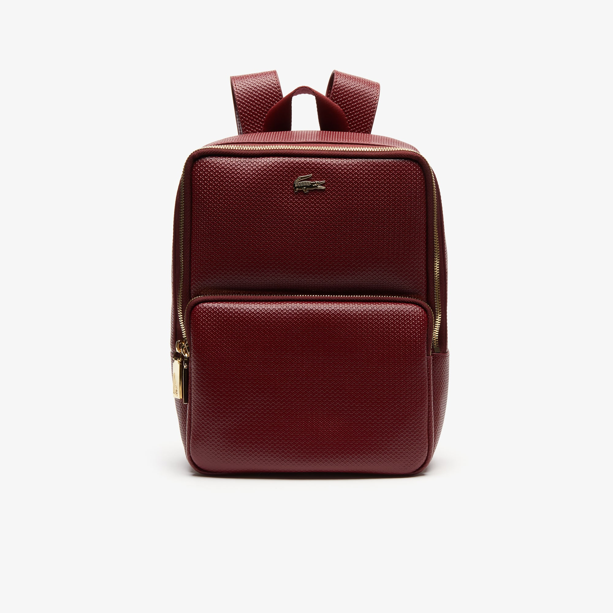 Women's Chantaco Piqué Leather Backpack