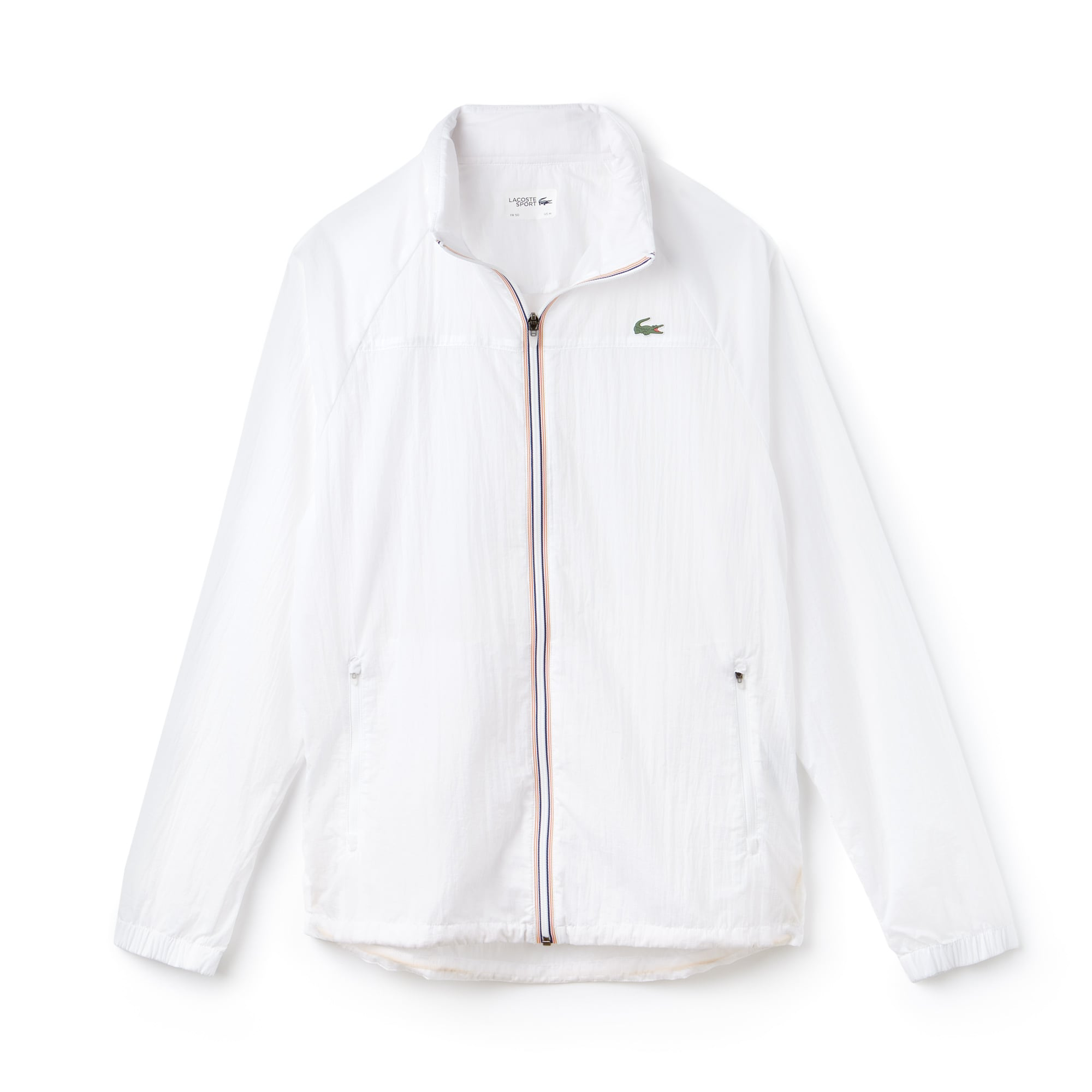 Men's Lacoste SPORT Concealed Hood Tech Tennis Windbreaker