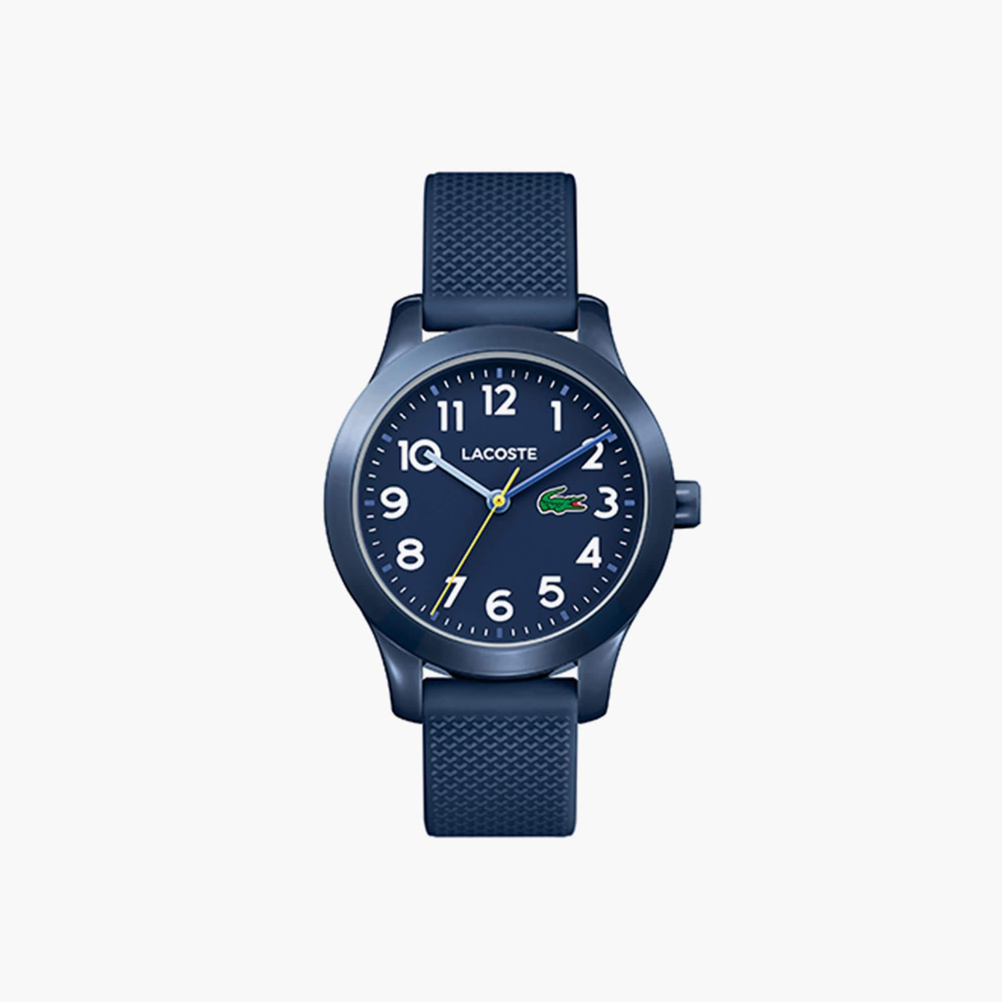 Child's Lacoste 12.12 Watch with Blue Silicone Strap